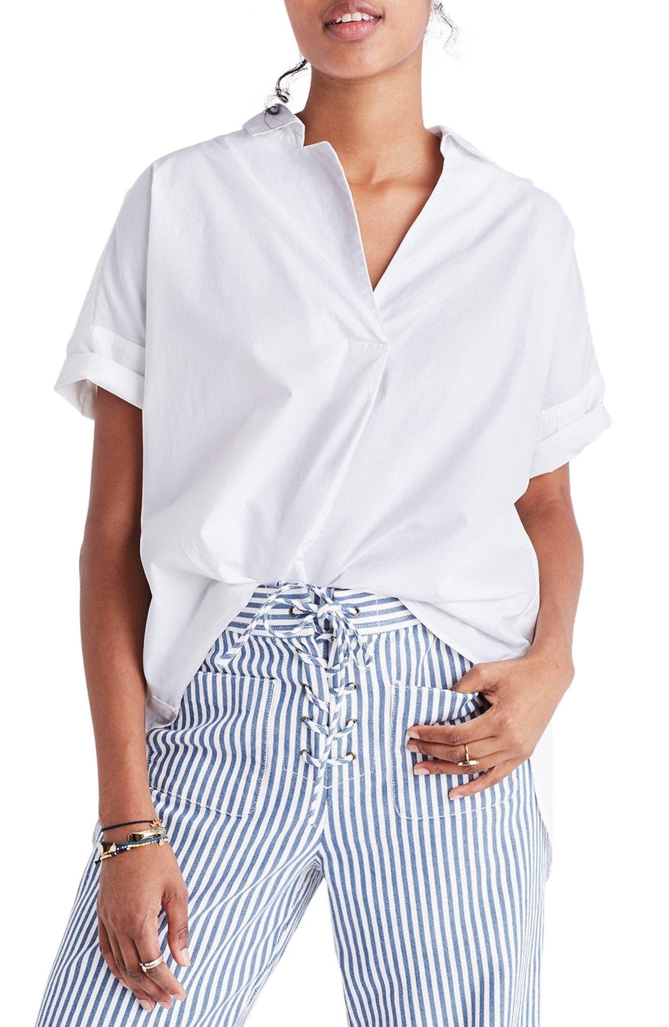 Courier Cotton Shirt,                             Main thumbnail 1, color,