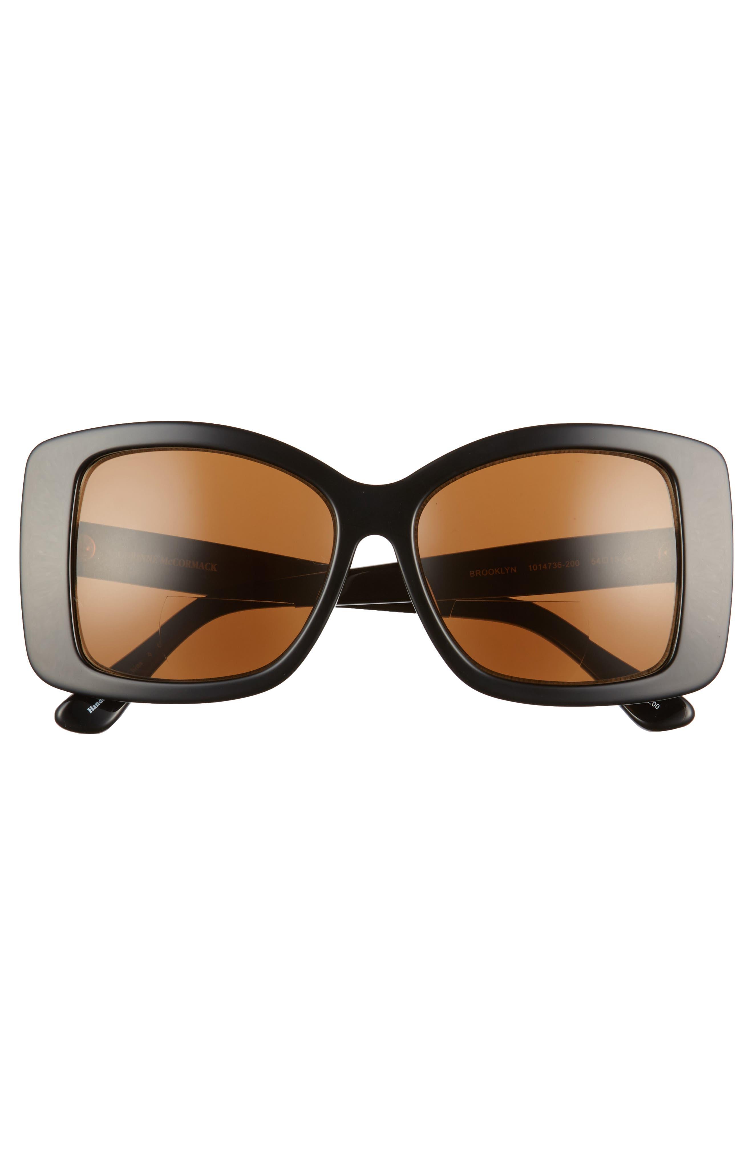 Brooklyn 54mm Reading Sunglasses,                             Alternate thumbnail 3, color,                             001