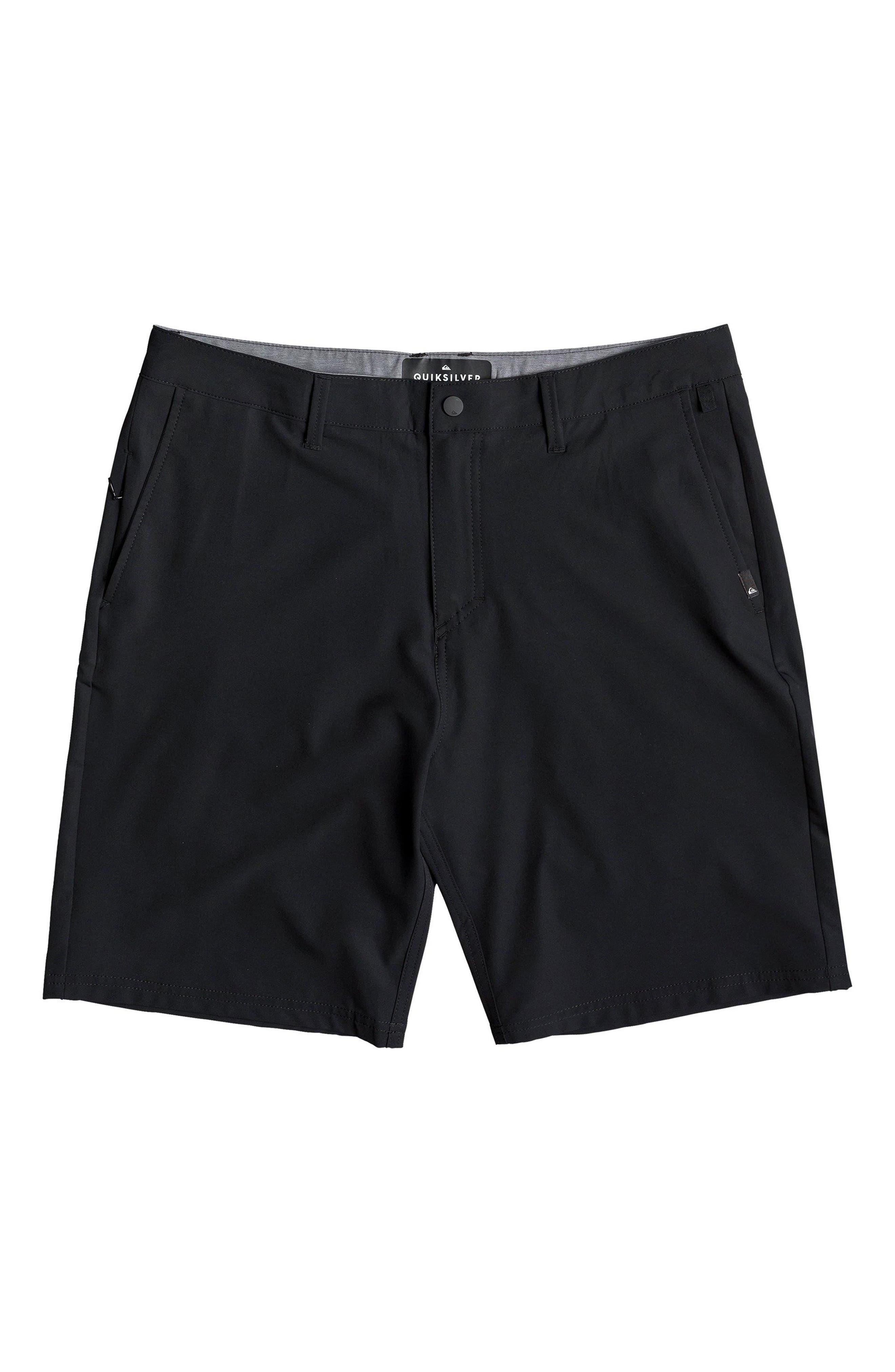 QUIKSILVER,                             Navigate Amphibian Shorts,                             Main thumbnail 1, color,                             BLACK