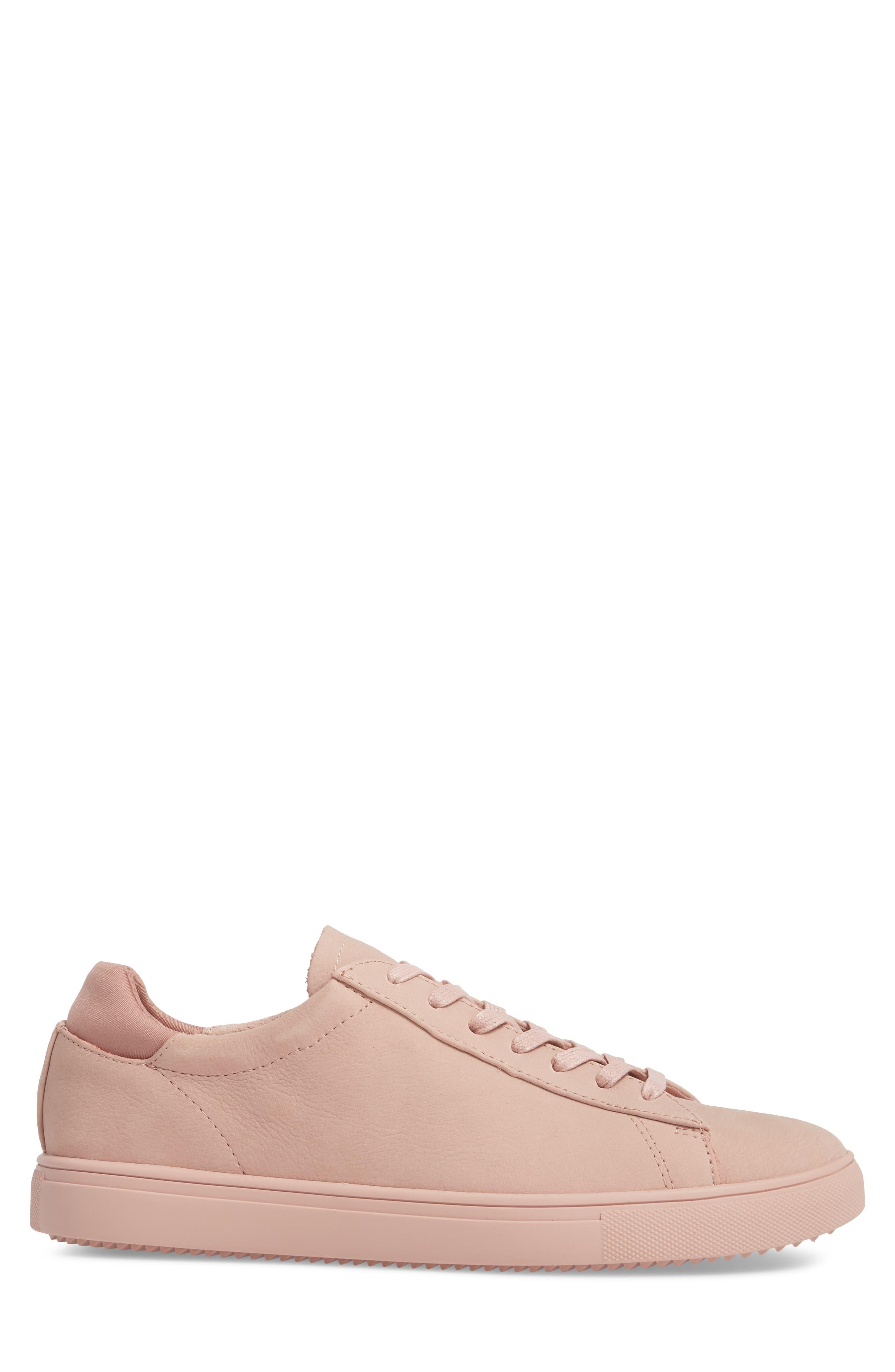 'Bradley' Sneaker,                             Alternate thumbnail 3, color,                             ROSE NUBUCK