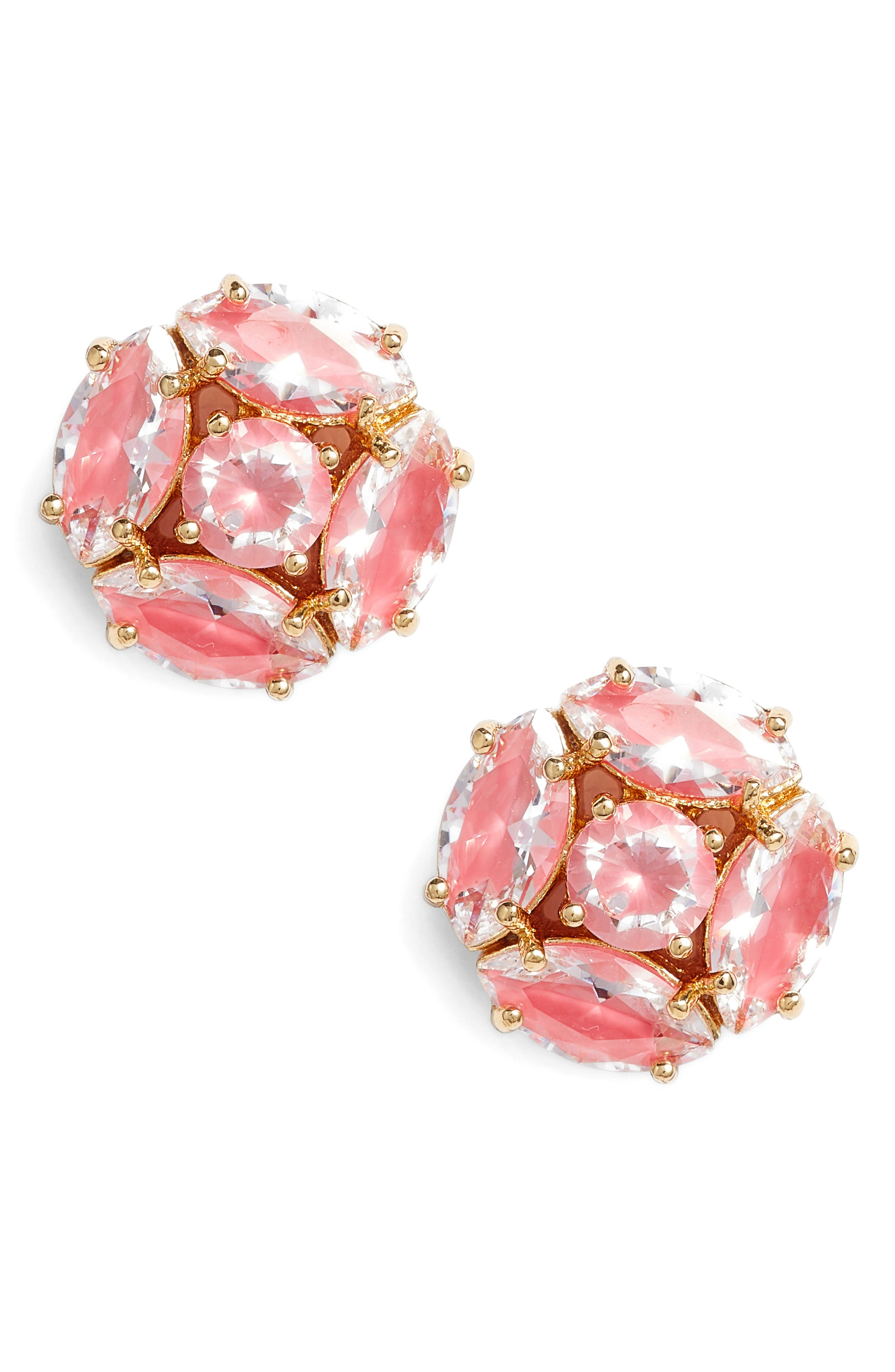 flying colors marquise cluster earrings,                             Main thumbnail 5, color,