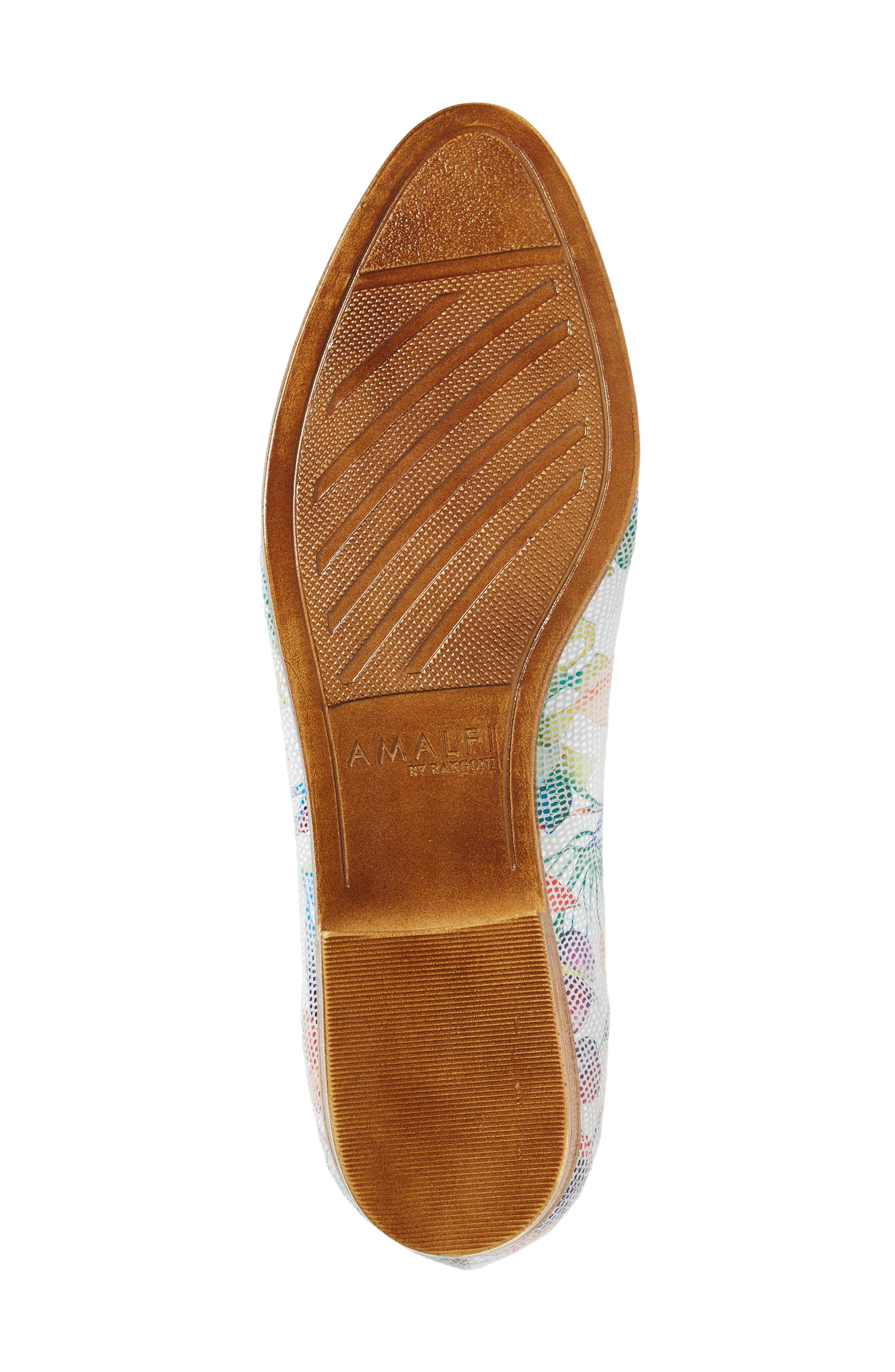 AMALFI BY RANGONI,                             Oste Loafer,                             Alternate thumbnail 6, color,                             WHITE LEATHER