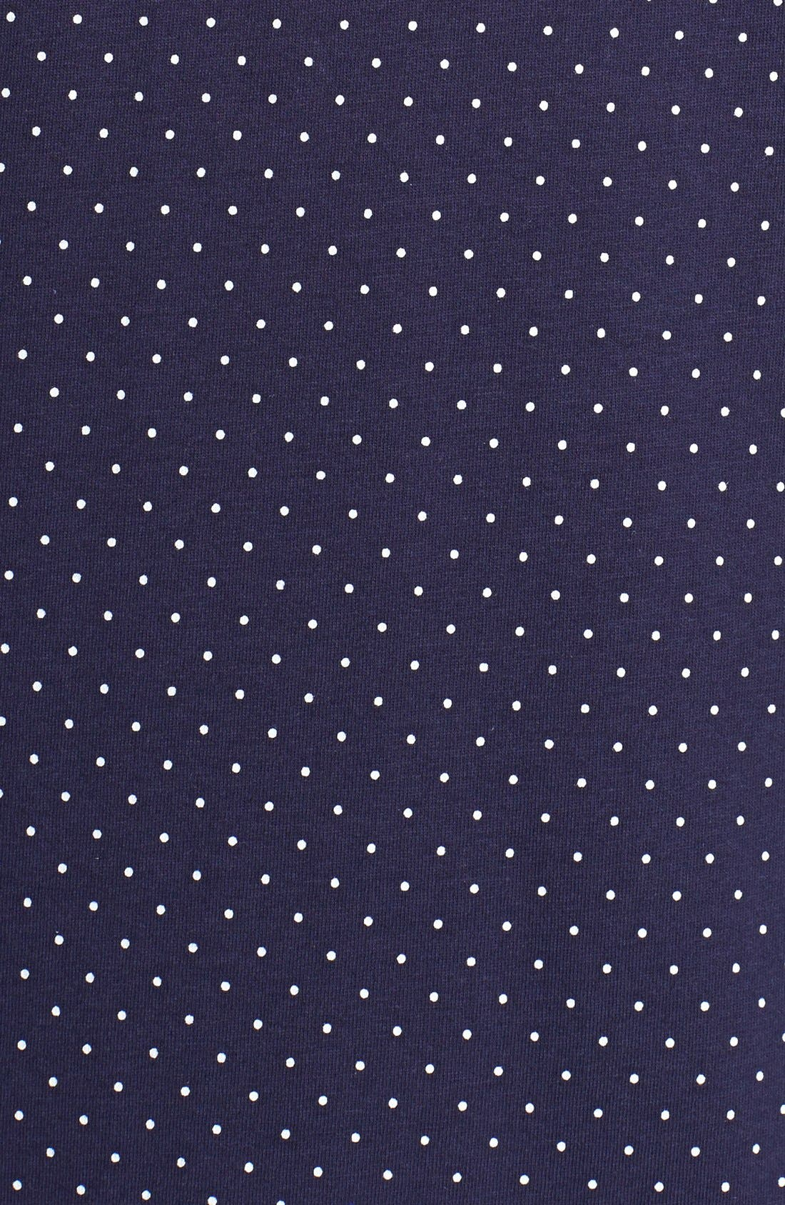 Knit Crop Pajamas,                             Alternate thumbnail 42, color,