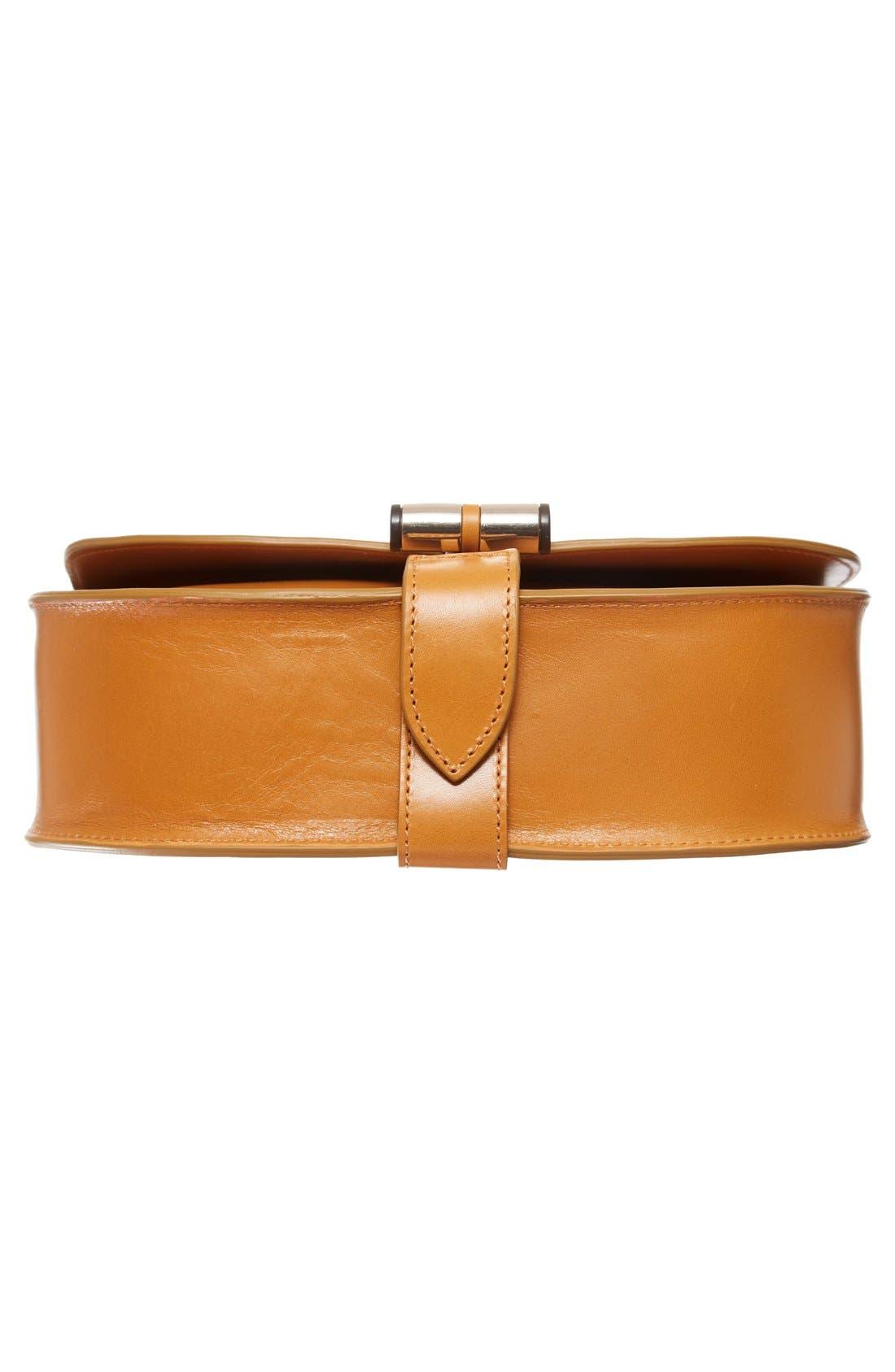 'Sac June' Leather Shoulder Bag,                             Alternate thumbnail 6, color,                             700