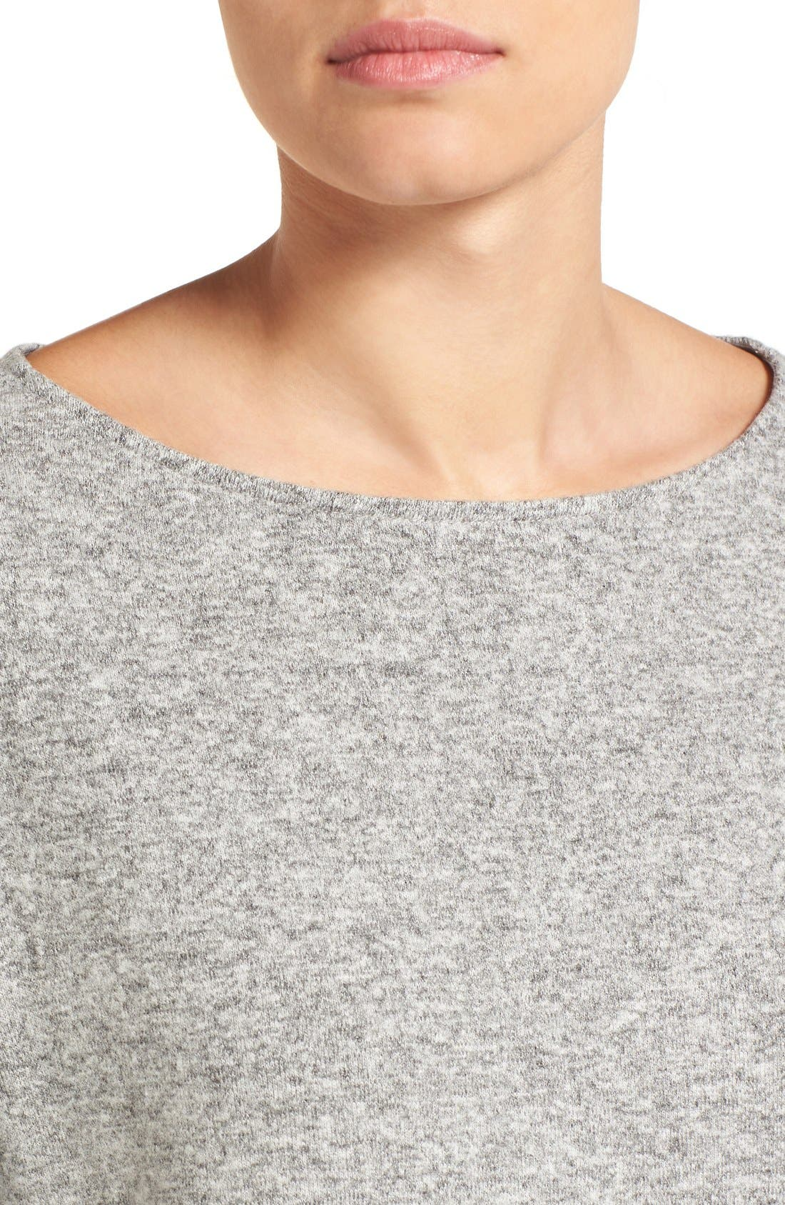 Cozy Ballet Neck High/Low Pullover,                             Alternate thumbnail 79, color,