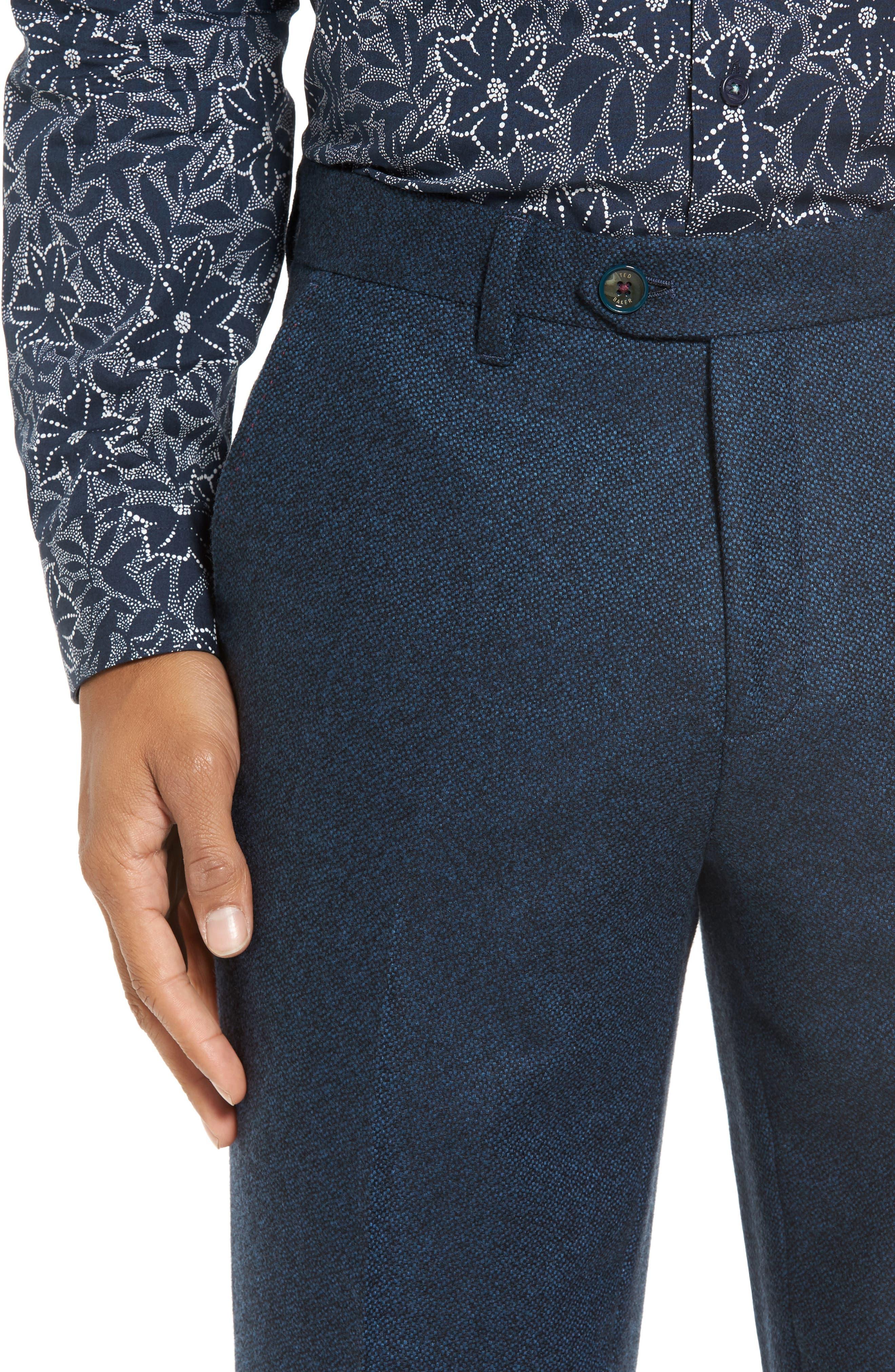 Modern Slim Fit Trousers,                             Alternate thumbnail 8, color,