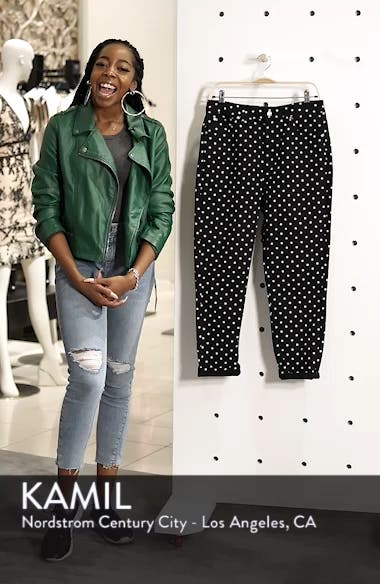 MOTO Polka Dot Mom Jeans, sales video thumbnail