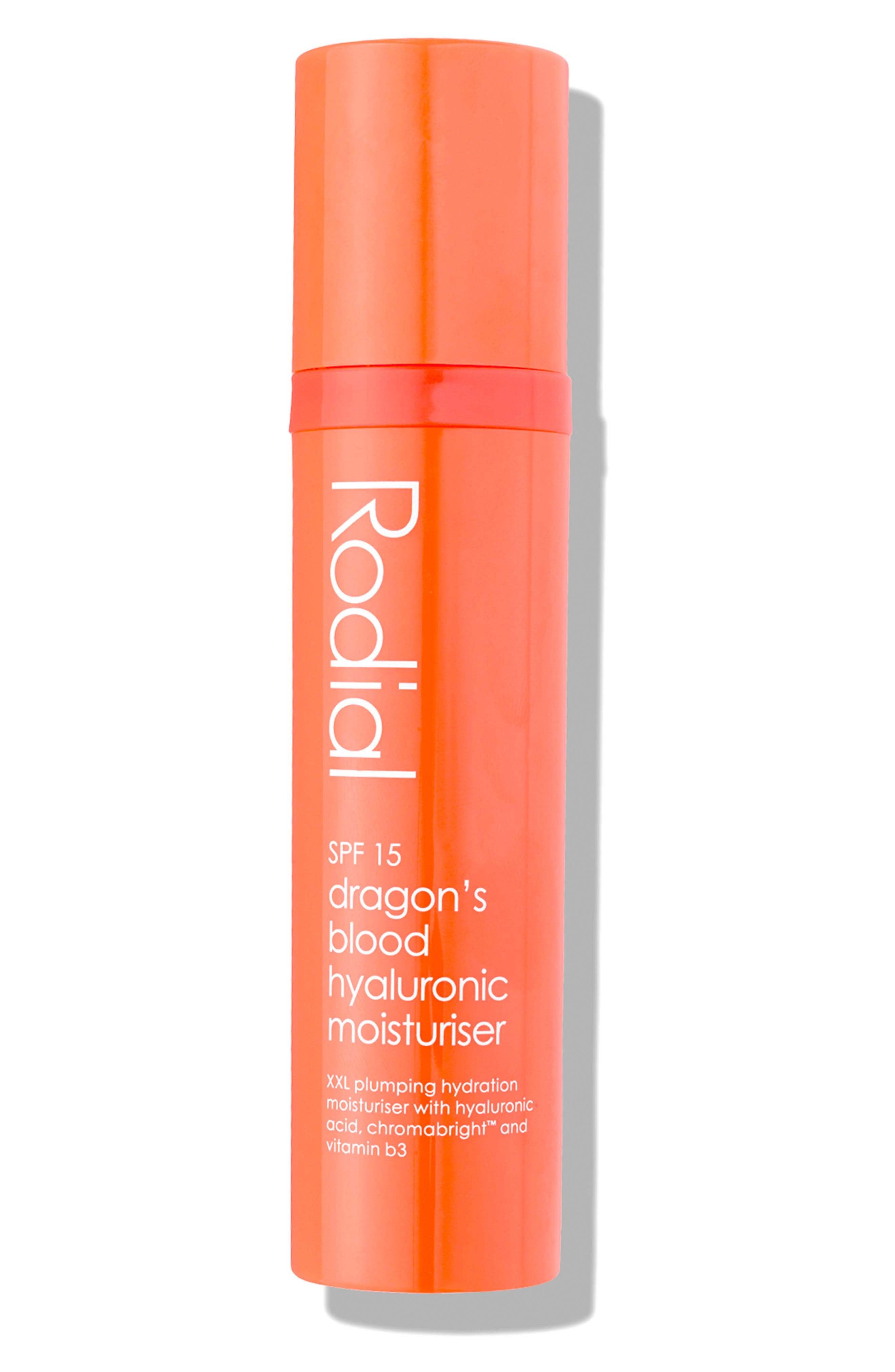 SPACE.NK.apothecary Rodial Dragon's Blood Hyaluronic Moisturizer SPF 15,                             Alternate thumbnail 2, color,                             NO COLOR