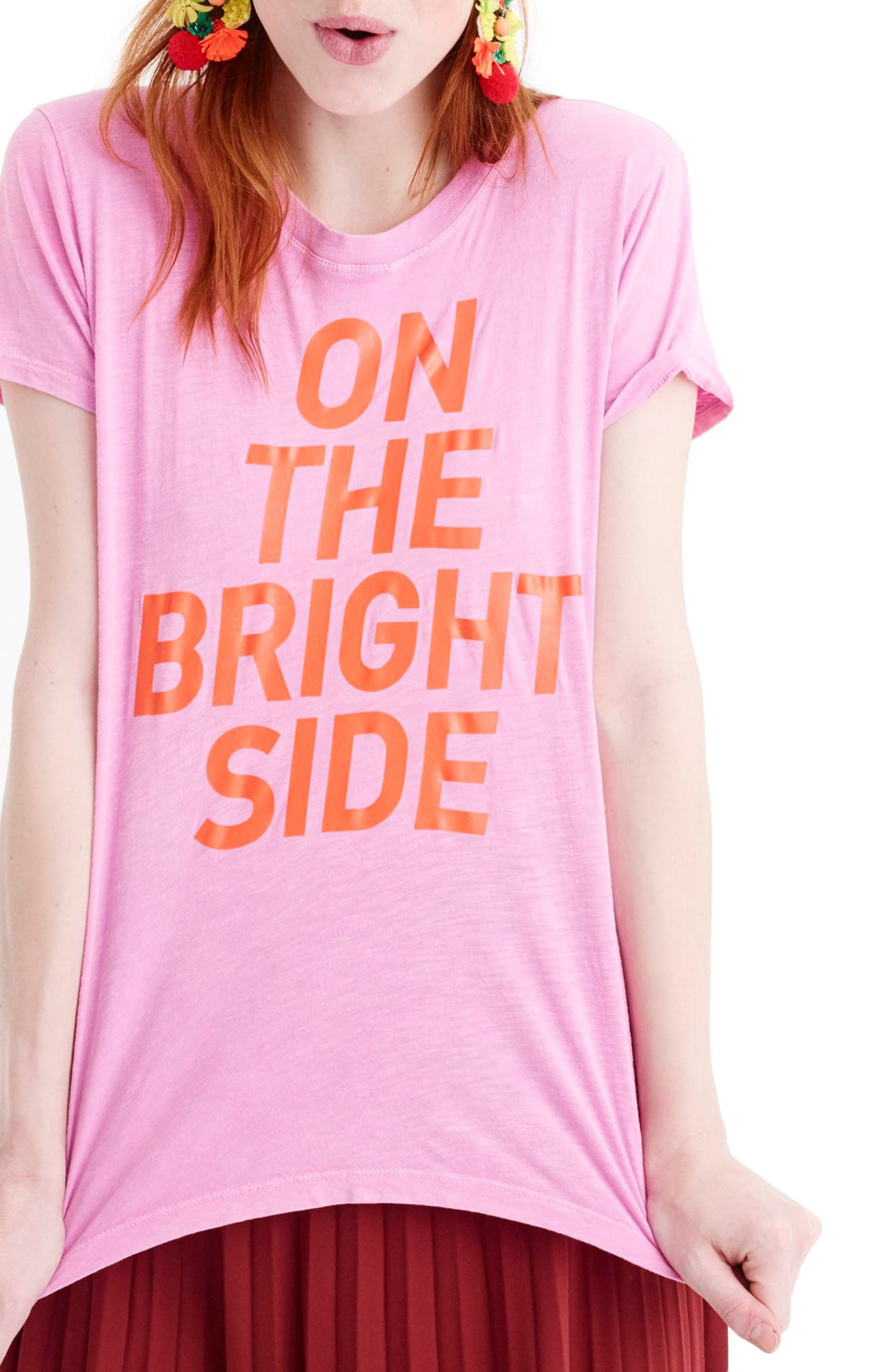 On the Bright Side Tee,                             Main thumbnail 1, color,                             651