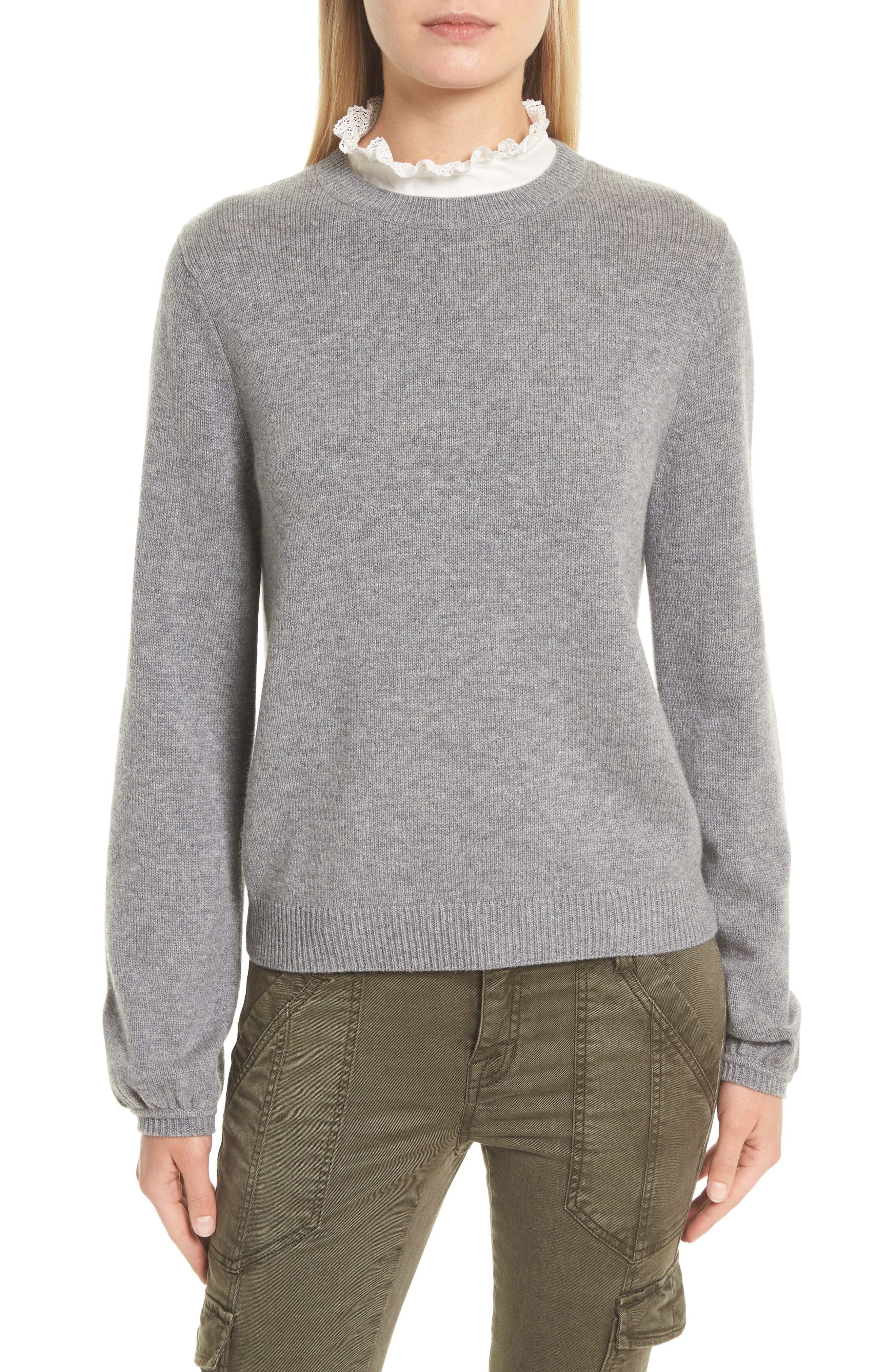 Affie Wool & Cashmere Sweater,                             Main thumbnail 2, color,