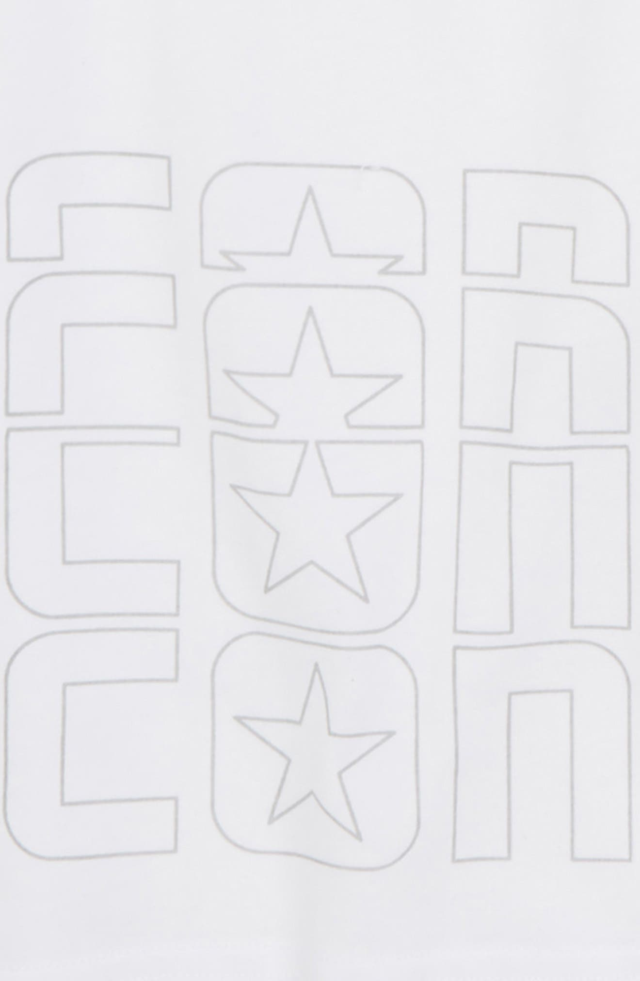 Raglan Sport Stripe T-Shirt,                             Alternate thumbnail 2, color,                             100