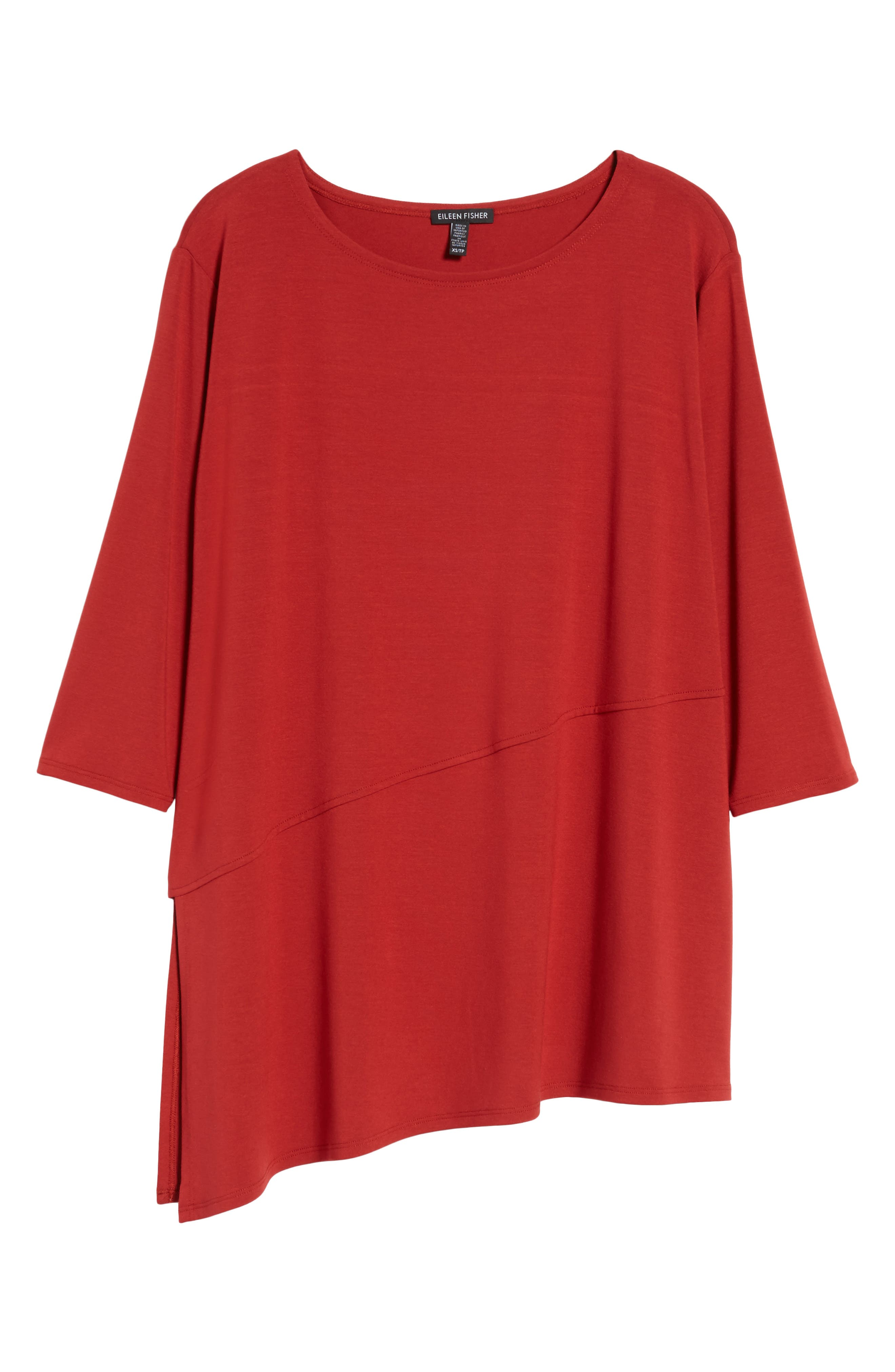 Asymmetrical Jersey Top,                             Alternate thumbnail 48, color,