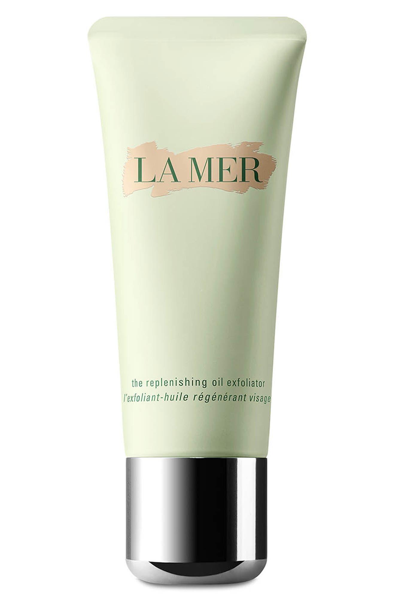 LA MER,                             The Replenishing Oil Exfoliator,                             Main thumbnail 1, color,                             NO COLOR