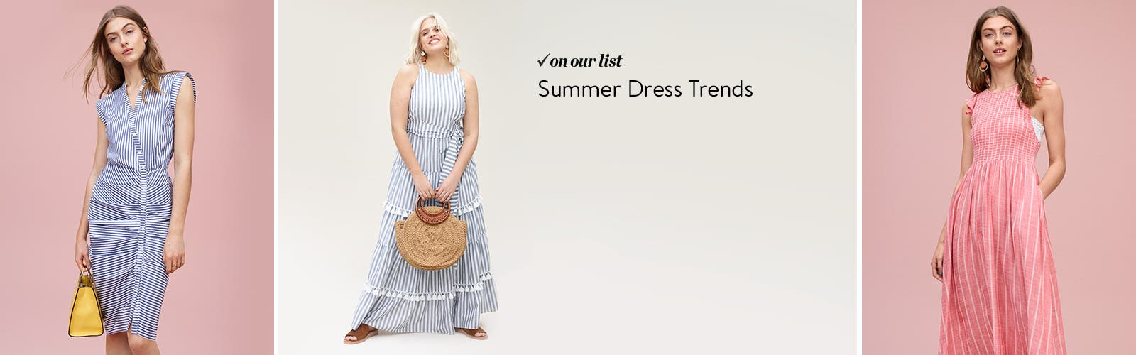 Summer dress trends.
