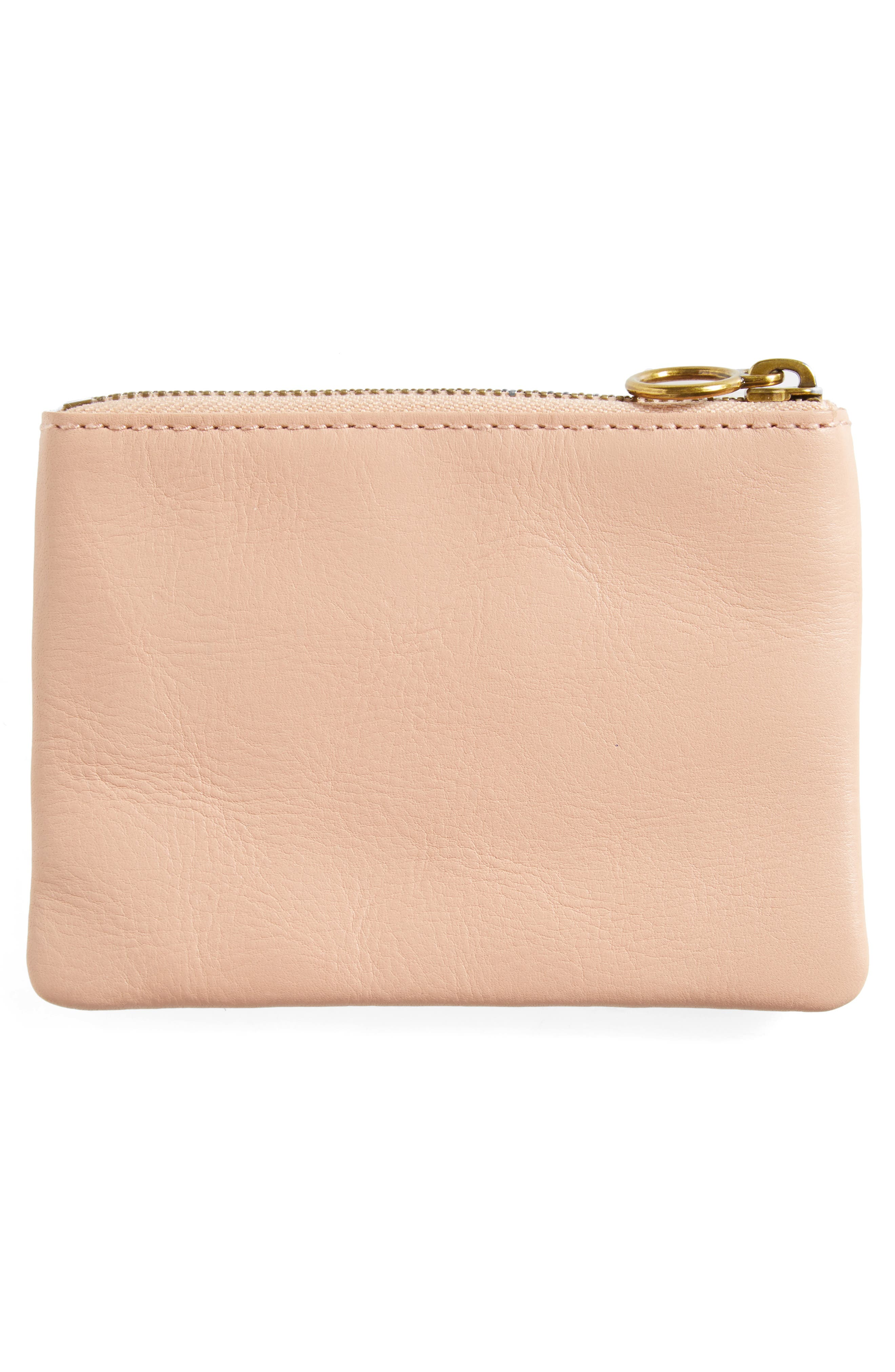 The Leather Pouch Wallet,                             Alternate thumbnail 7, color,