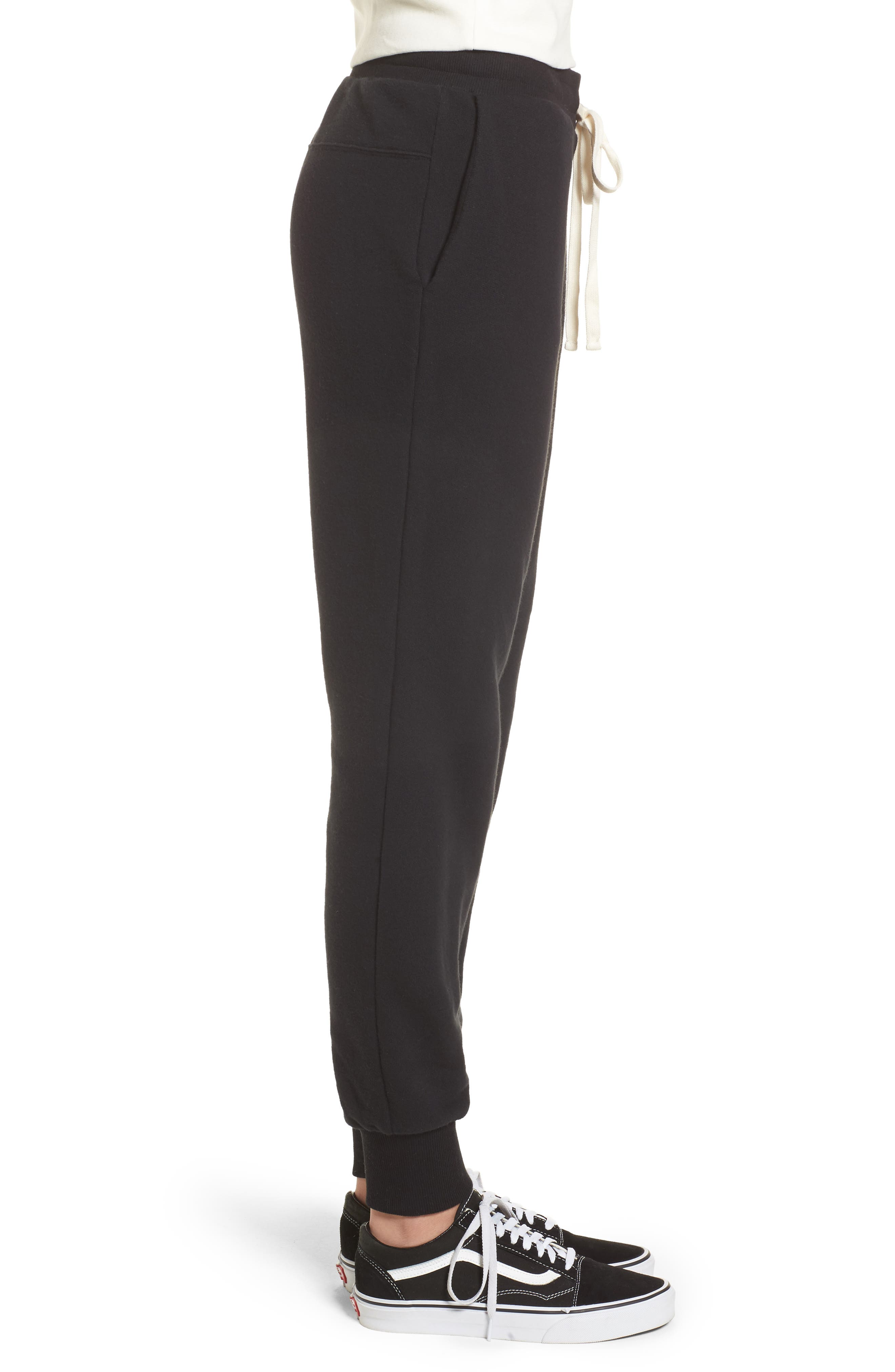 Terry Trouser Sweatpants,                             Alternate thumbnail 3, color,                             001