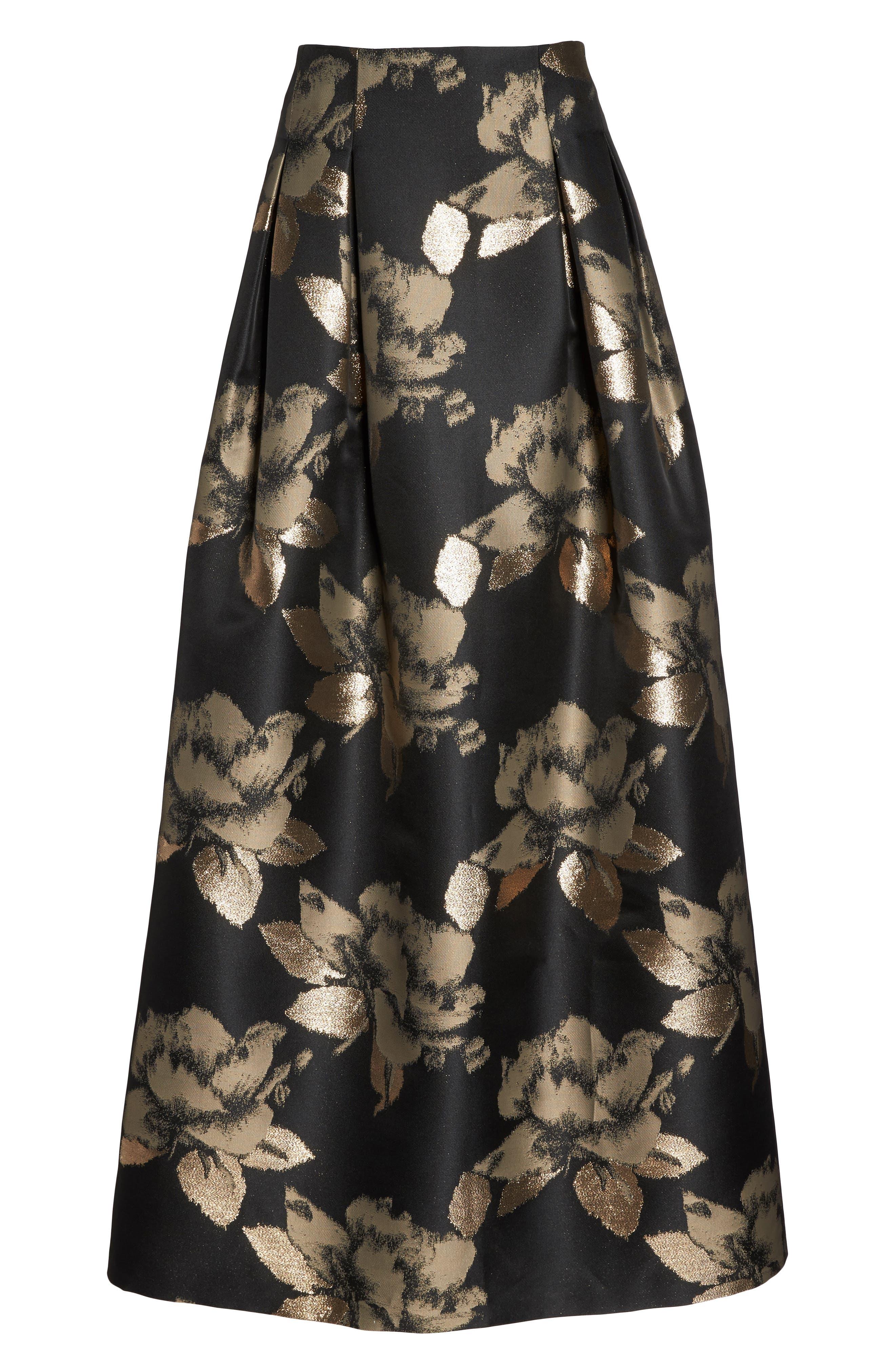High Waist Ball Skirt,                             Alternate thumbnail 6, color,                             008