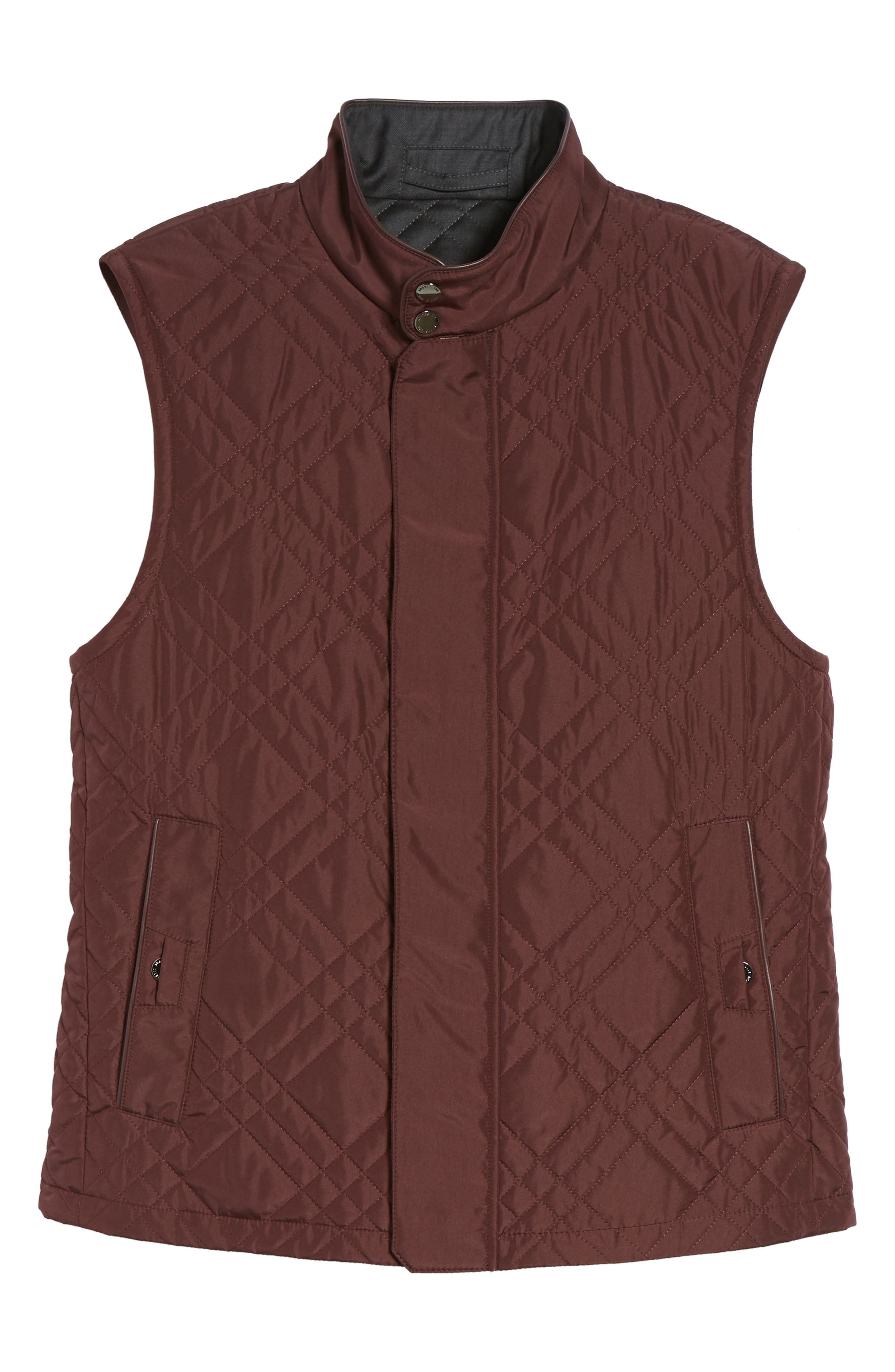 Quilted Field Vest,                             Alternate thumbnail 5, color,                             930