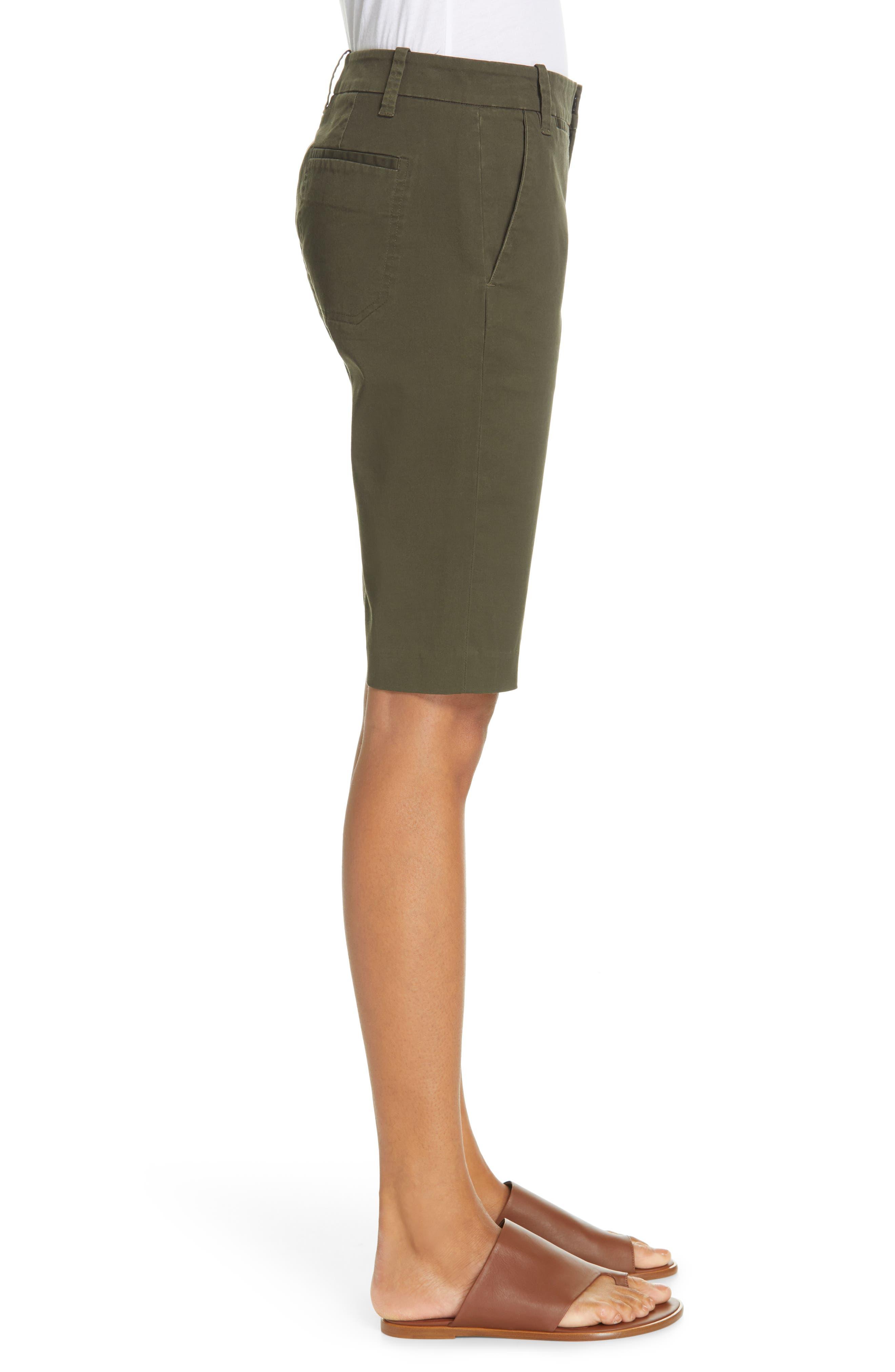 VINCE,                             Bermuda Shorts,                             Alternate thumbnail 3, color,                             ALPINE