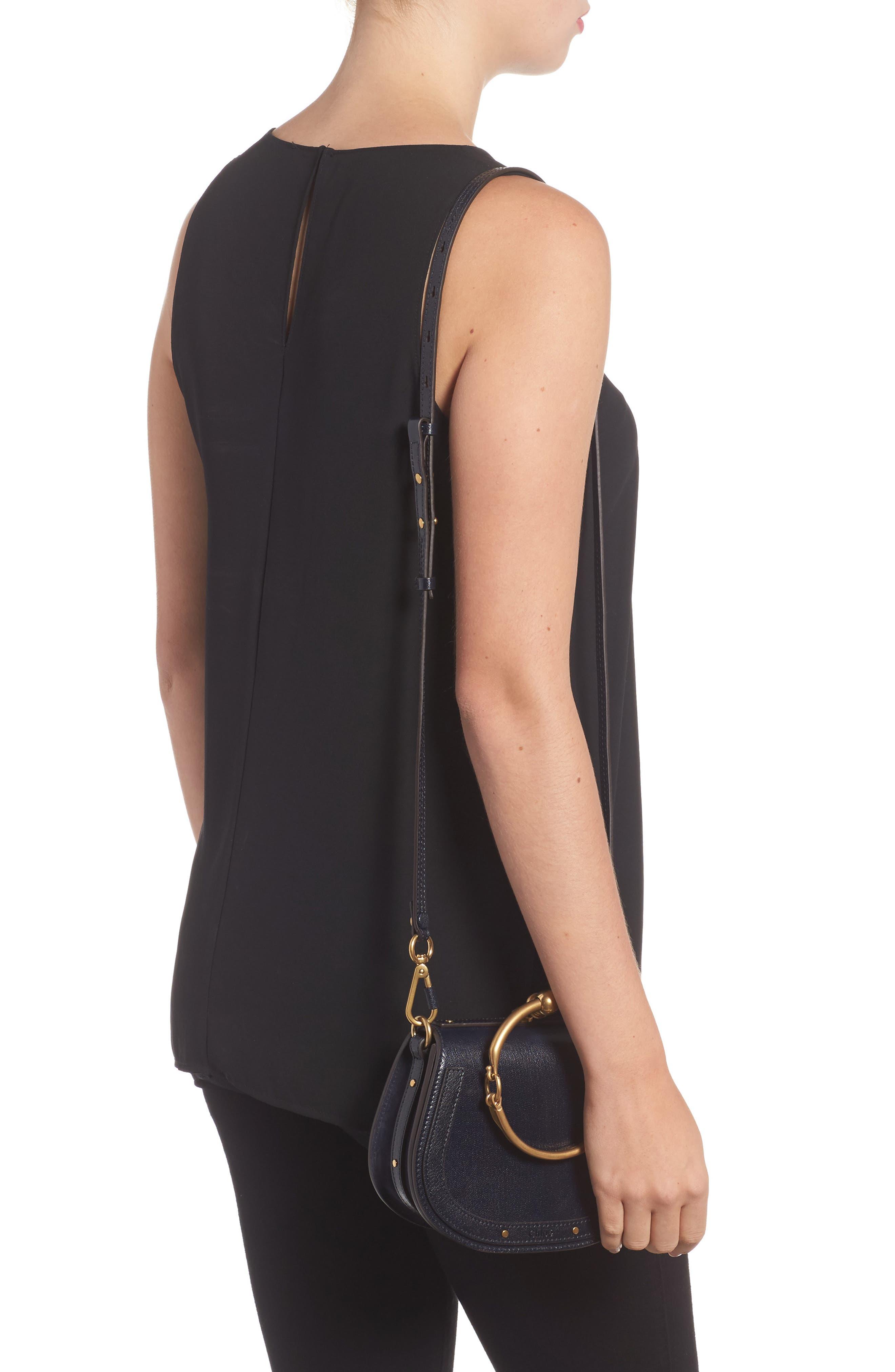 Small Nile Leather Crossbody Bag,                             Alternate thumbnail 2, color,                             412