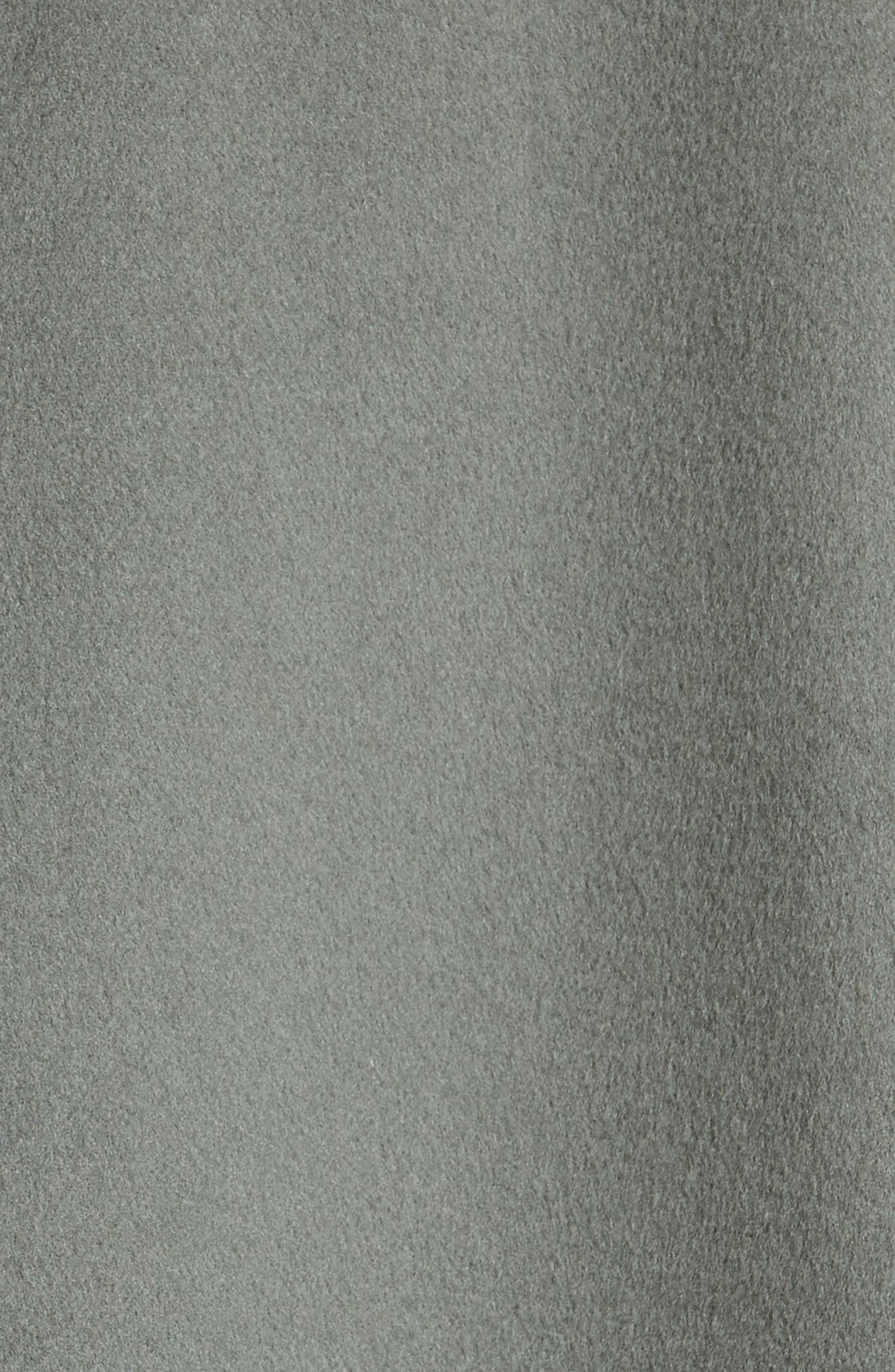 Reversible Wool & Cashmere Clutch Coat,                             Alternate thumbnail 12, color,