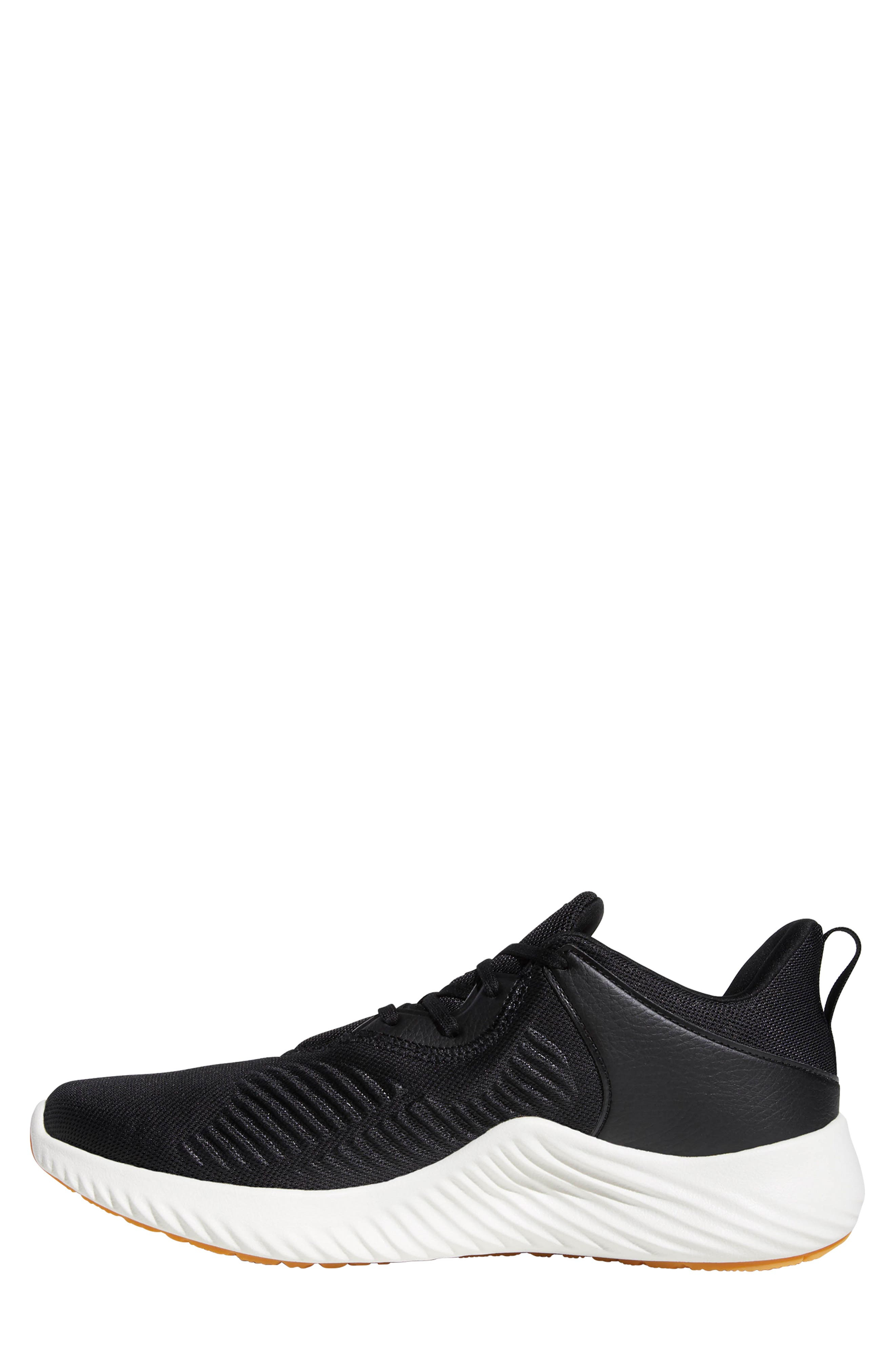 AlphaBounce RC 2 Running Shoe,                             Alternate thumbnail 10, color,                             CORE BLACK/ NIGHT/ CORE BLACK