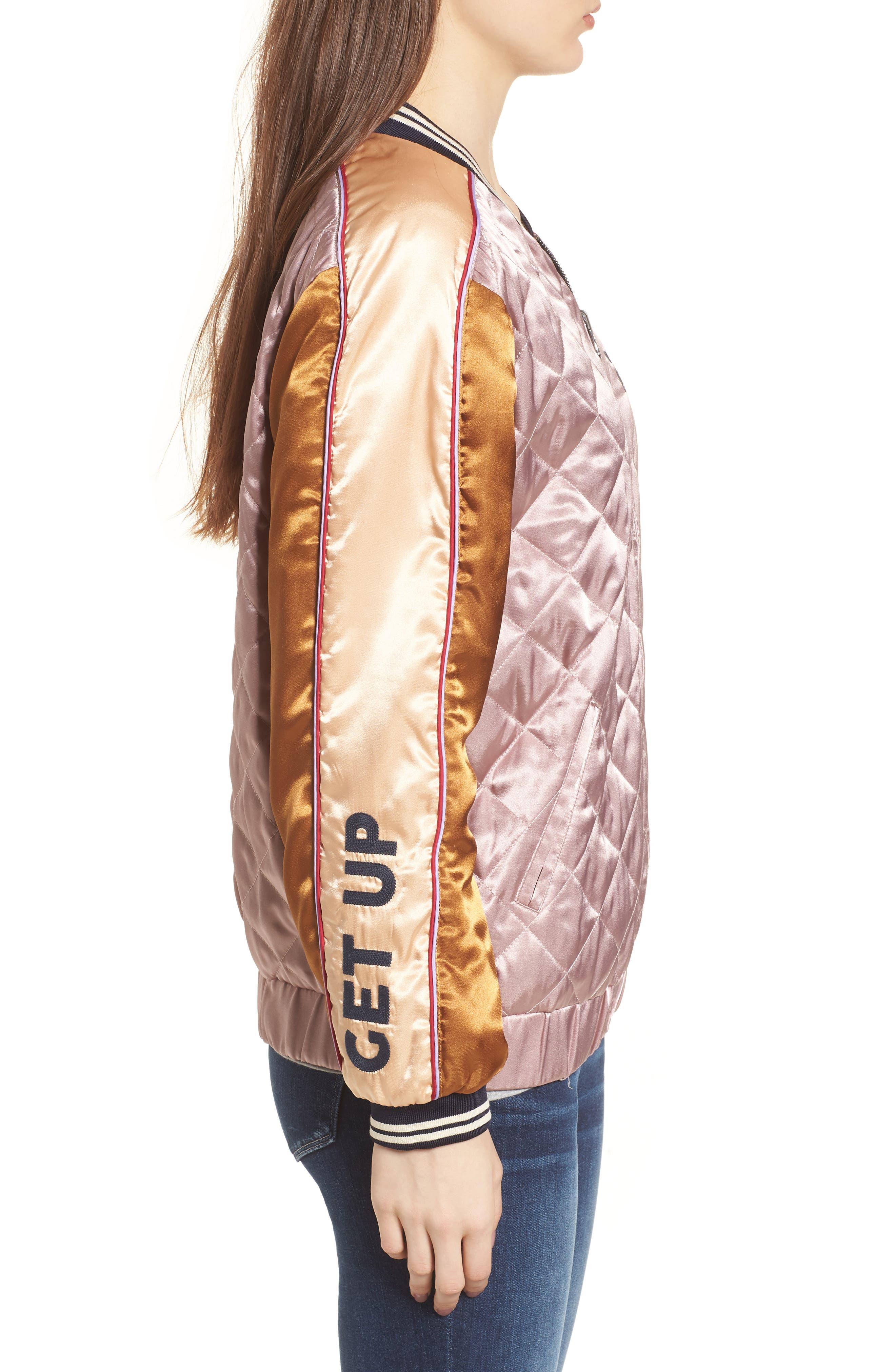 Reversible Varsity Jacket,                             Alternate thumbnail 4, color,                             650