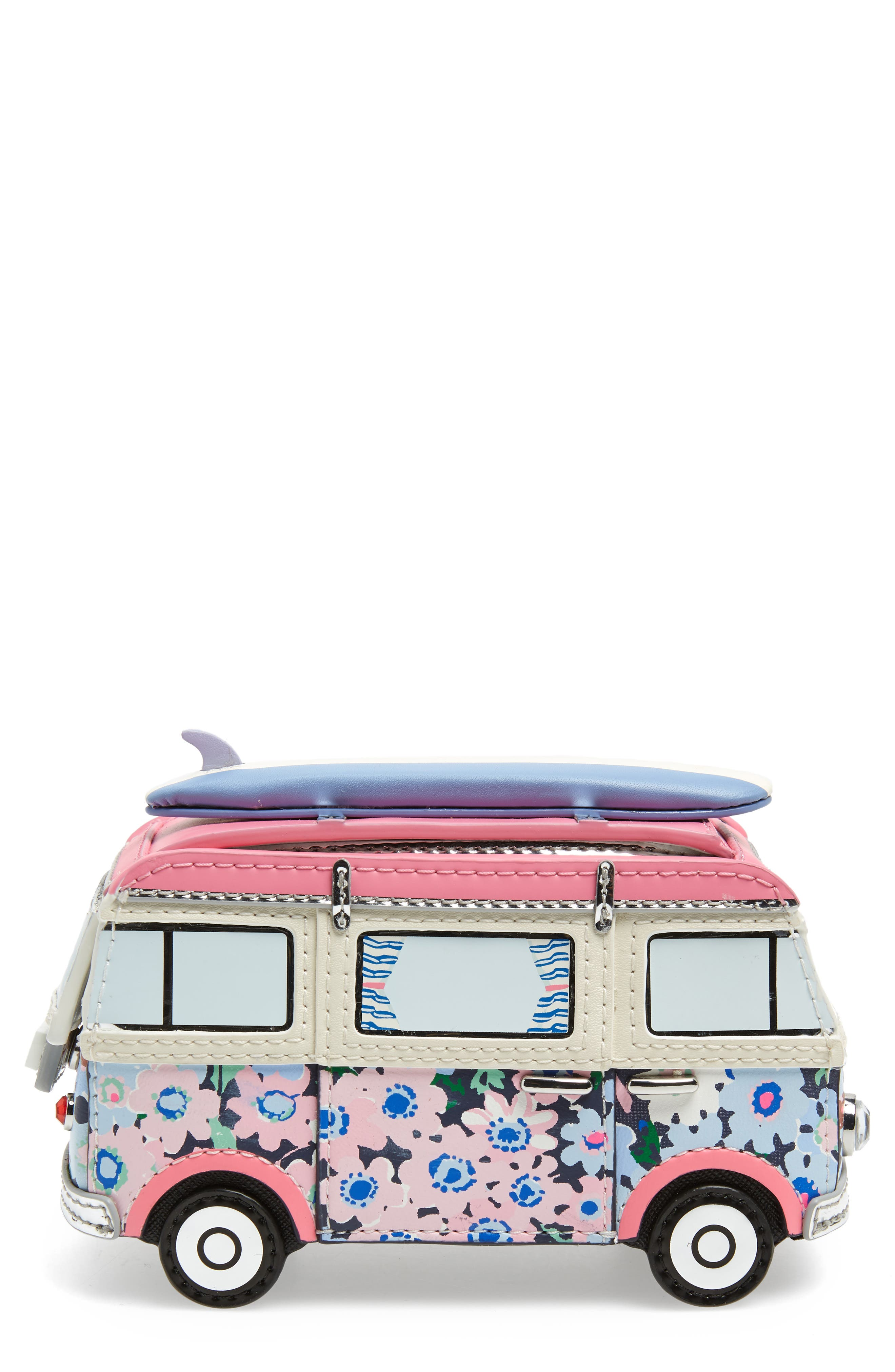 california dreaming surf van coin purse,                             Main thumbnail 1, color,                             500