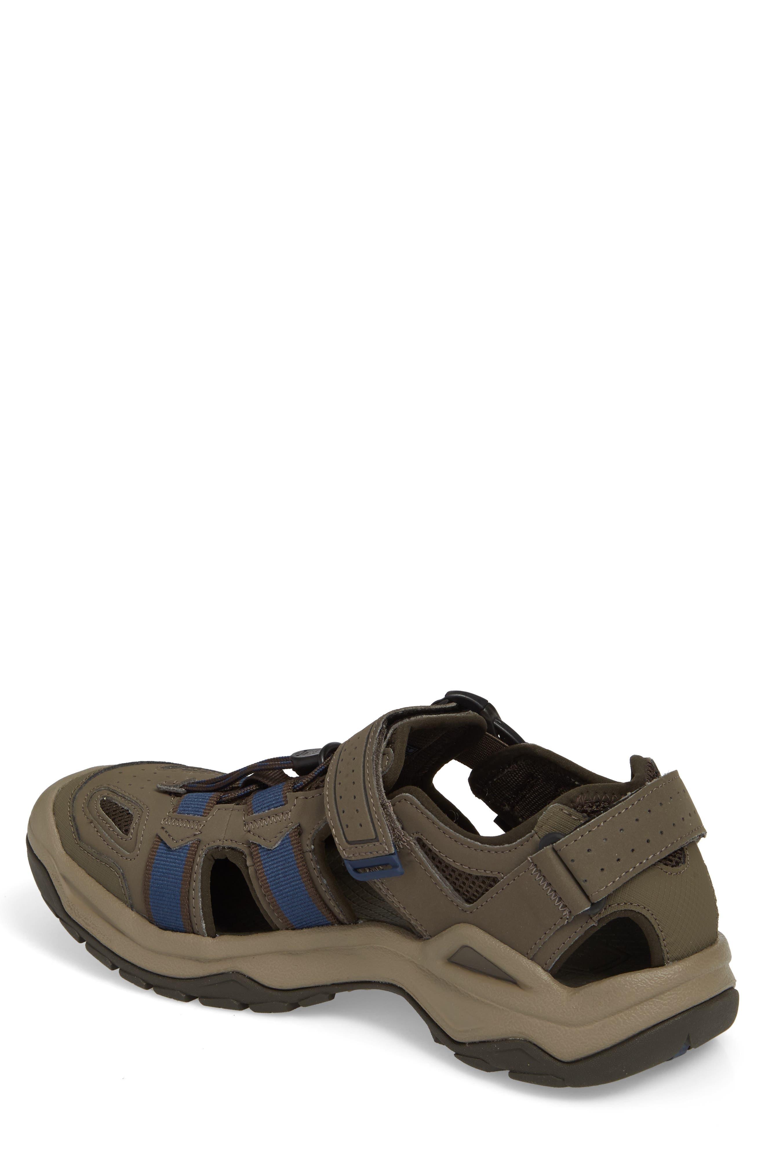 Omnium 2 Hiking Sandal,                             Alternate thumbnail 2, color,                             BROWN NYLON