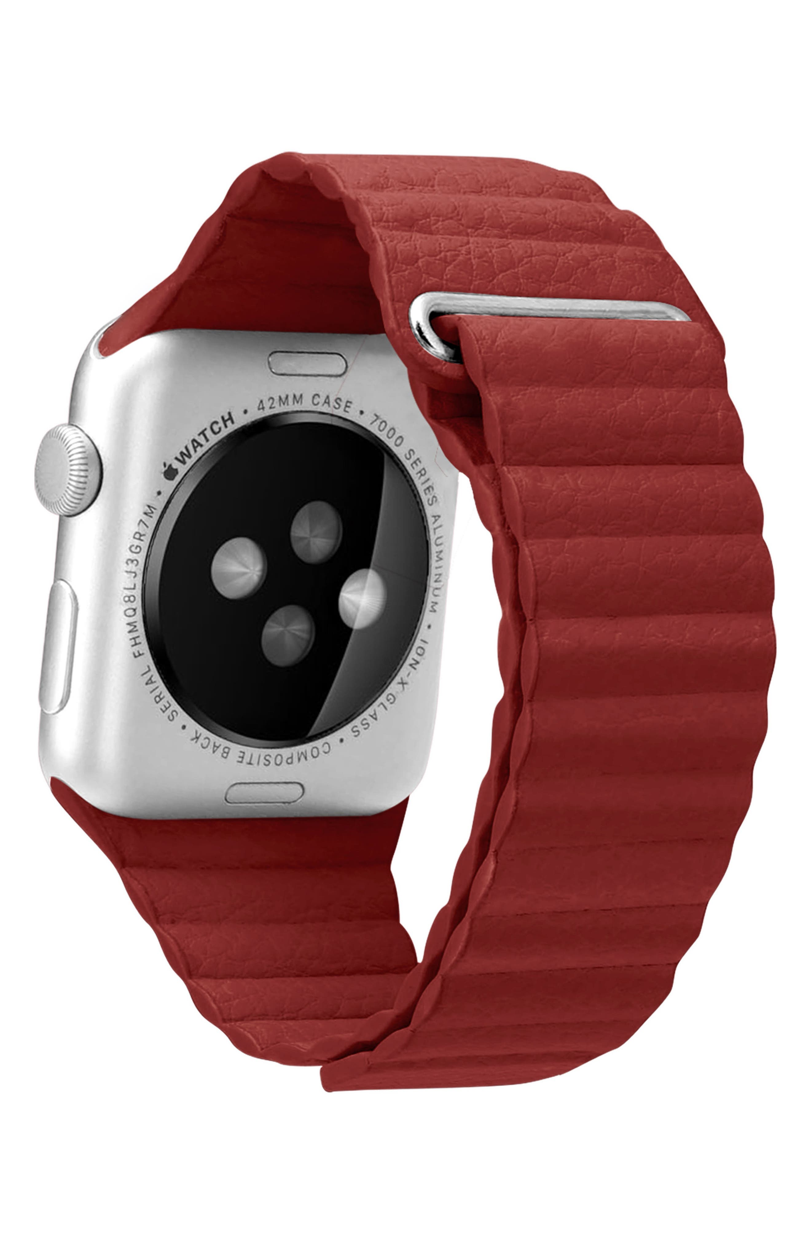 Magnetic Apple Watch Strap, 28mm,                             Alternate thumbnail 12, color,