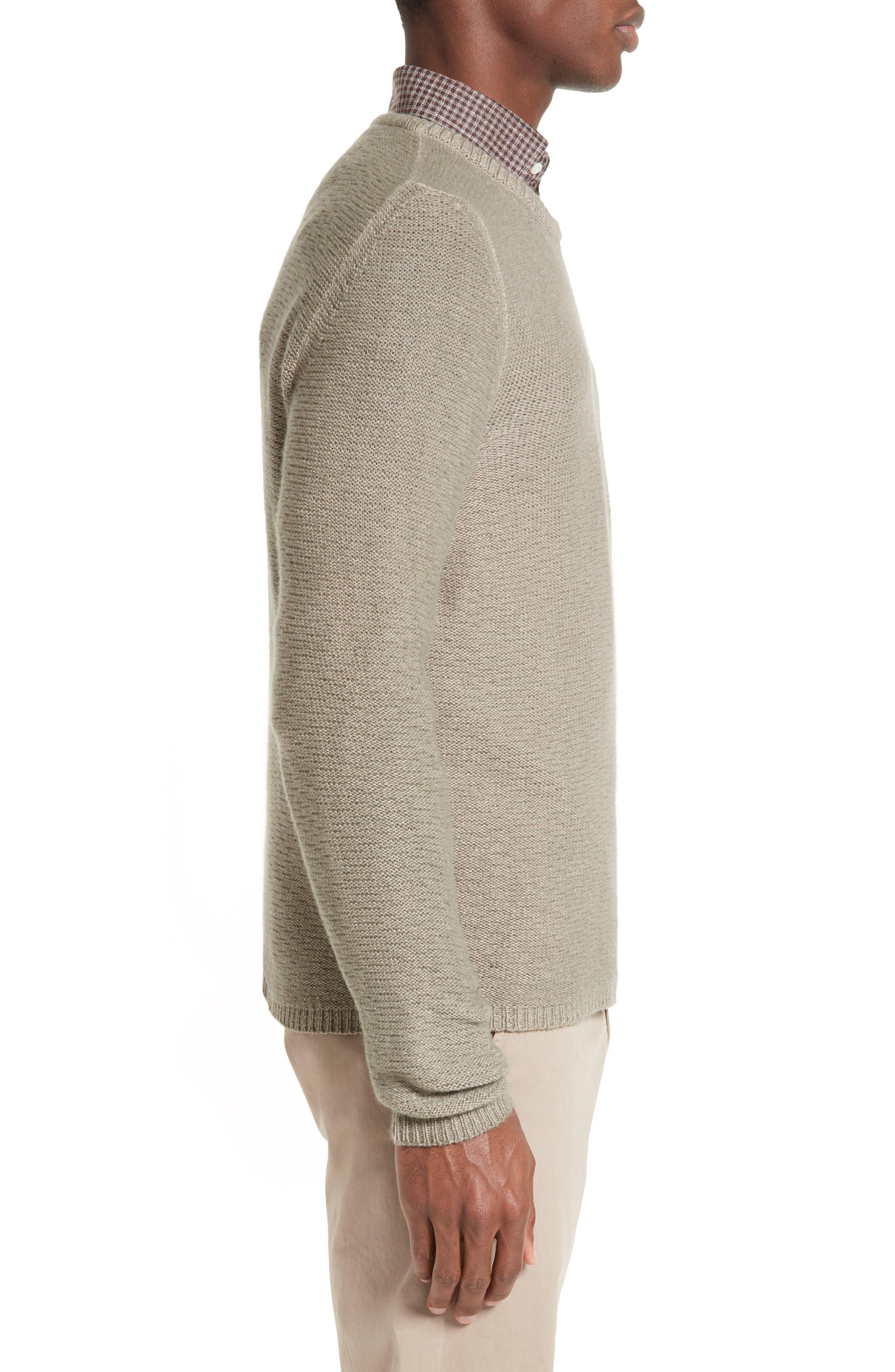 Napoli Slub Cashmere Sweater,                             Alternate thumbnail 3, color,                             200