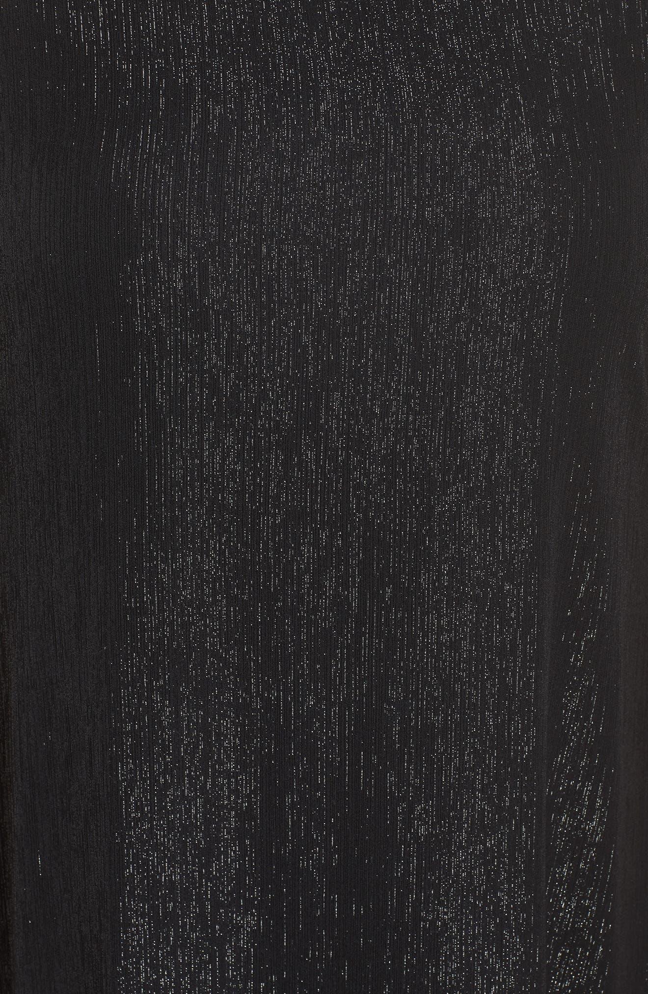 Dora Sleeveless Maxi Dress,                             Alternate thumbnail 5, color,                             001