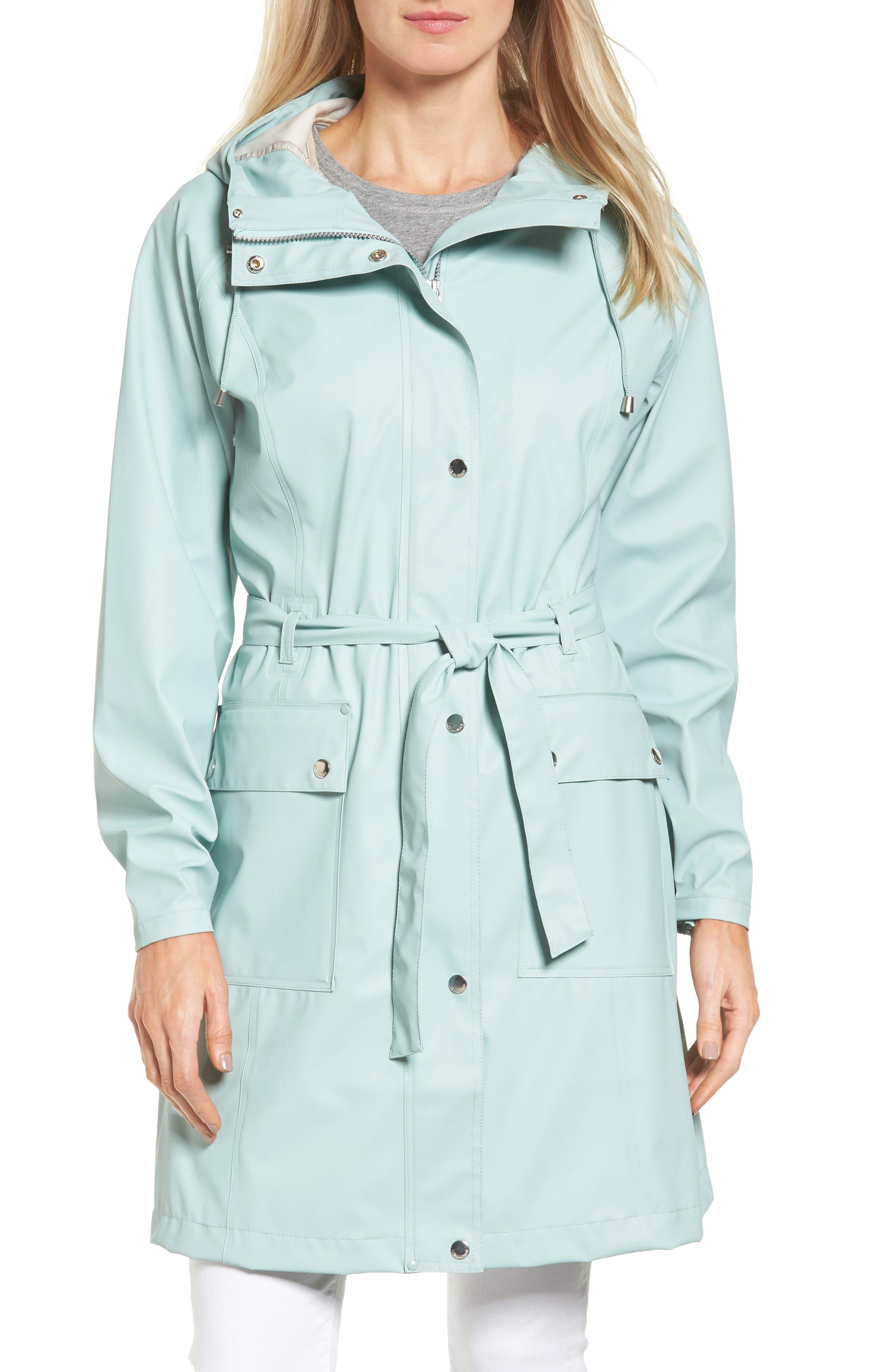 Hornbæk Hooded Raincoat,                             Main thumbnail 2, color,