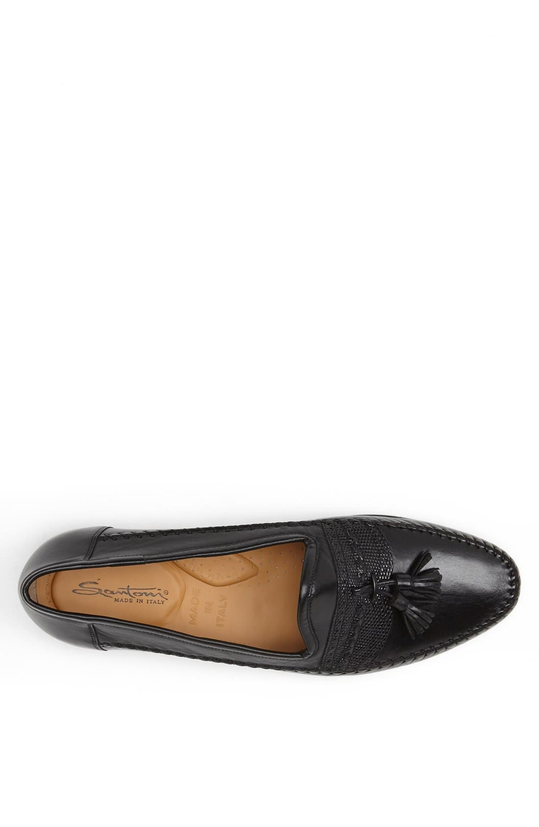 'Hammon' Loafer,                             Alternate thumbnail 3, color,                             BLK