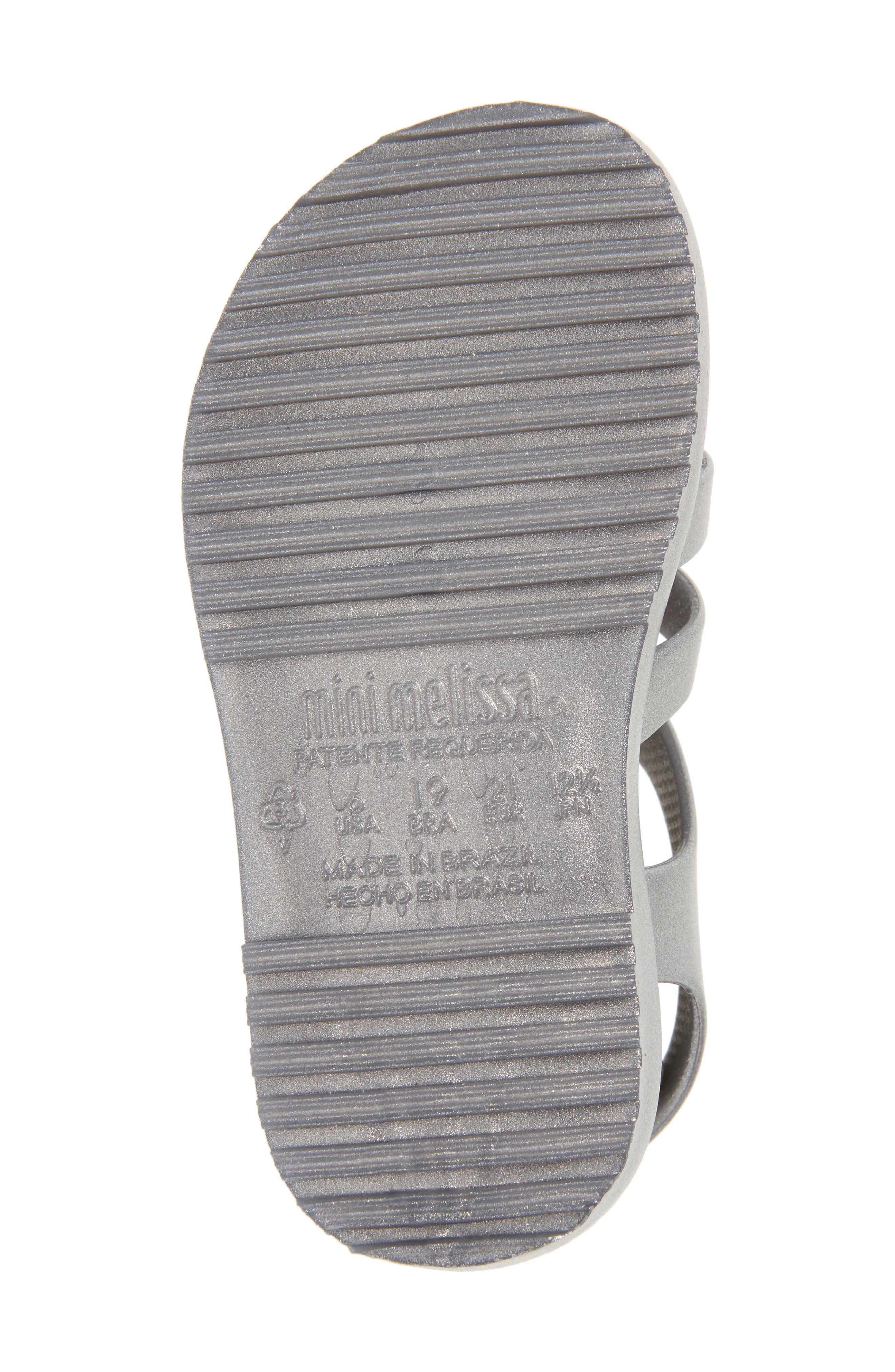 Mini Flox Shine Sandal,                             Alternate thumbnail 6, color,                             042