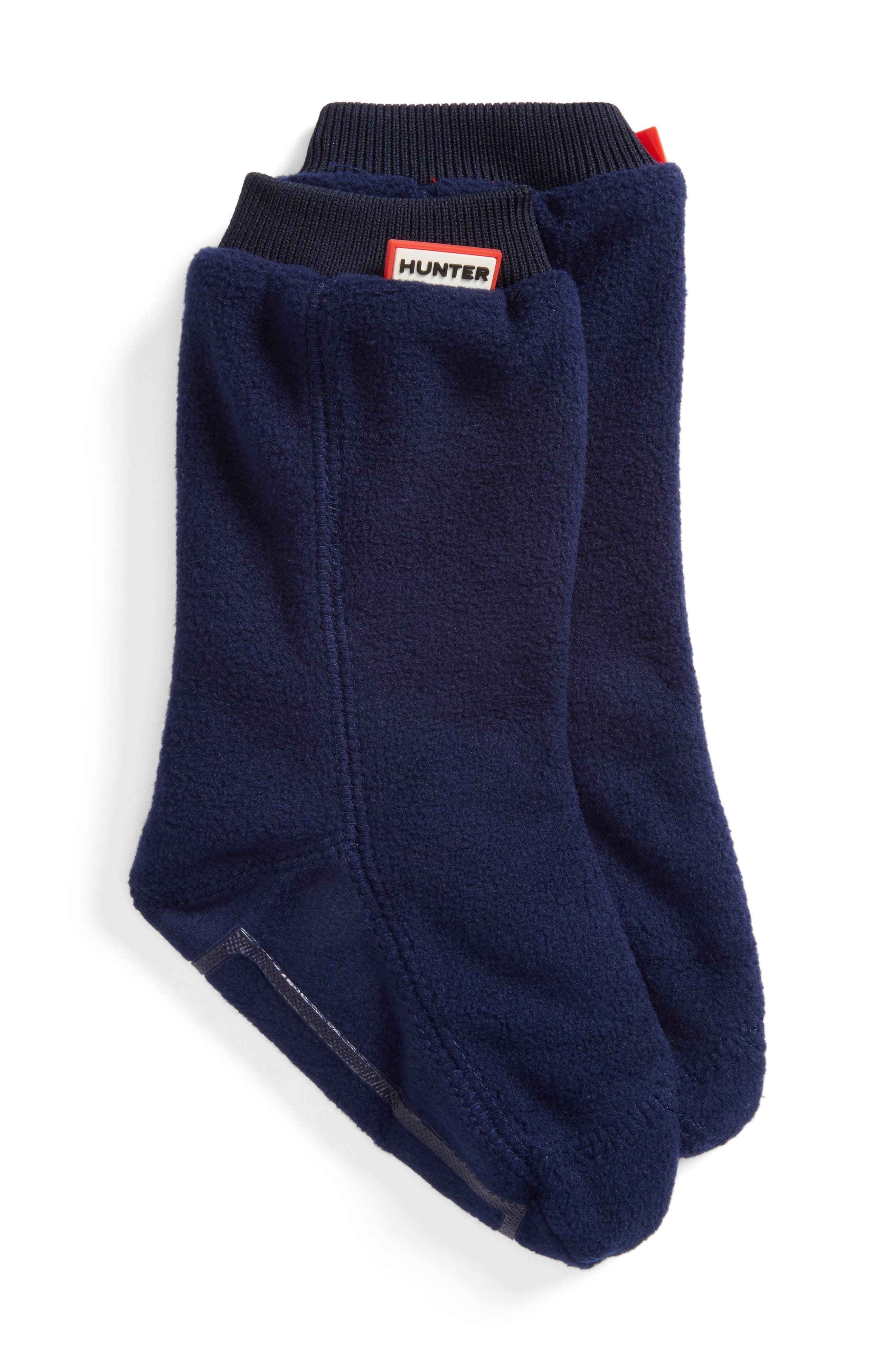 Original Fitted Boot Socks,                         Main,                         color, NAVY