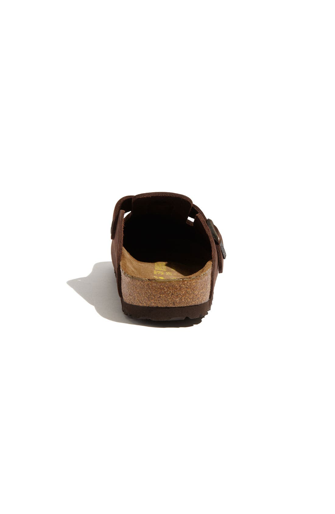 'Boston' Classic Oiled Leather Clog,                             Alternate thumbnail 29, color,