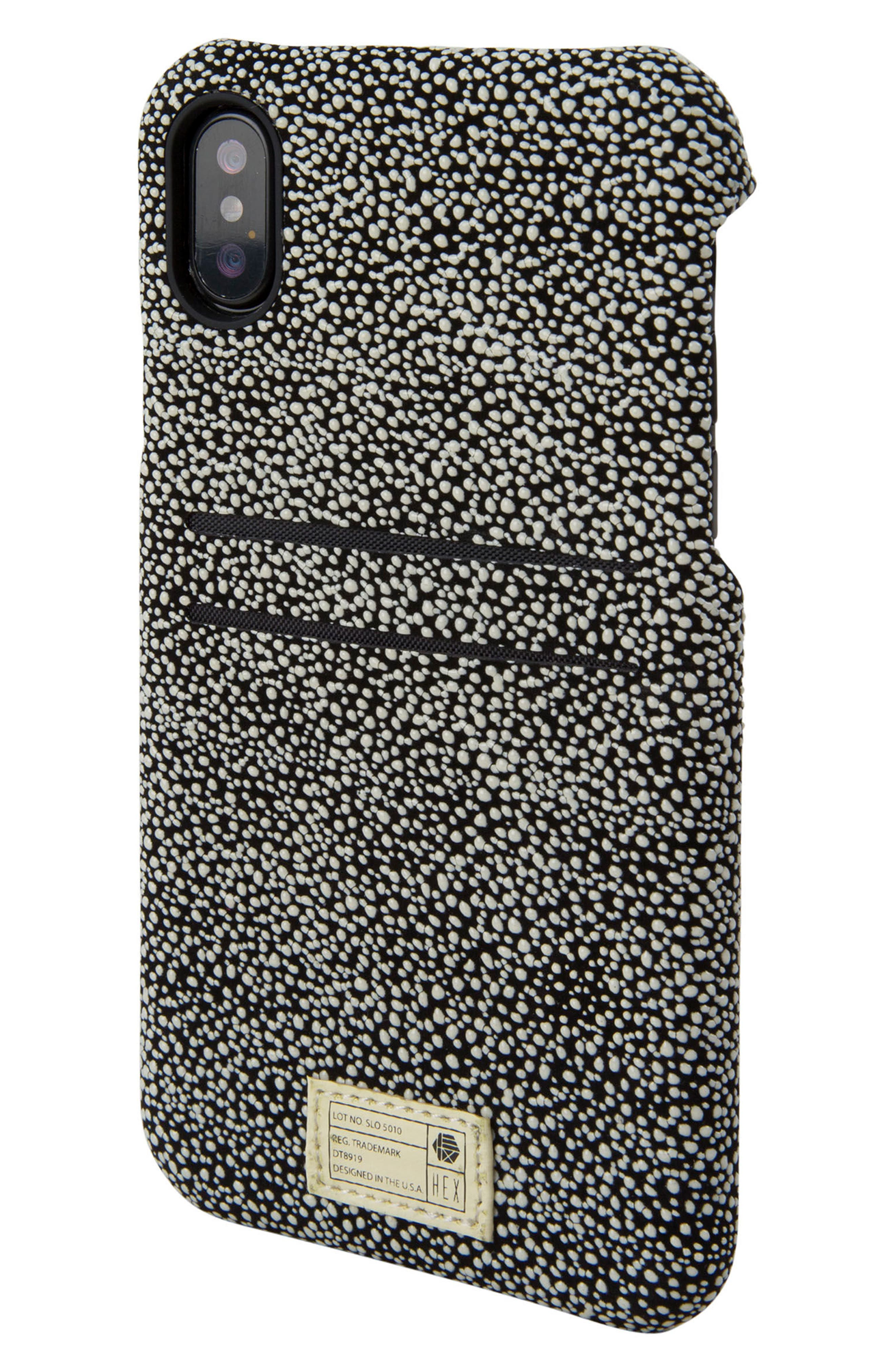Solo iPhone X Wallet Case,                             Main thumbnail 1, color,                             004