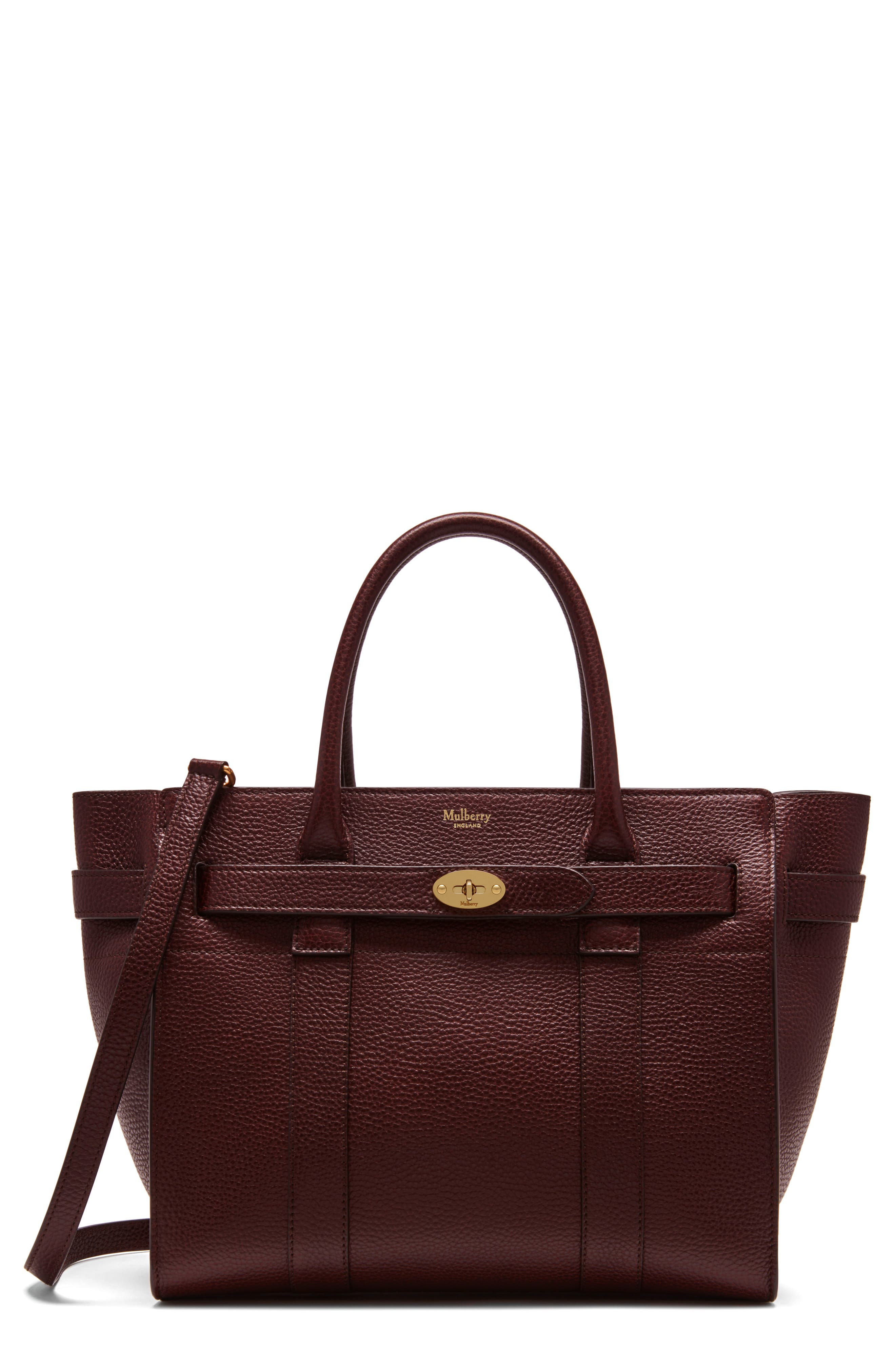 Large Bayswater Leather Tote,                         Main,                         color, 601