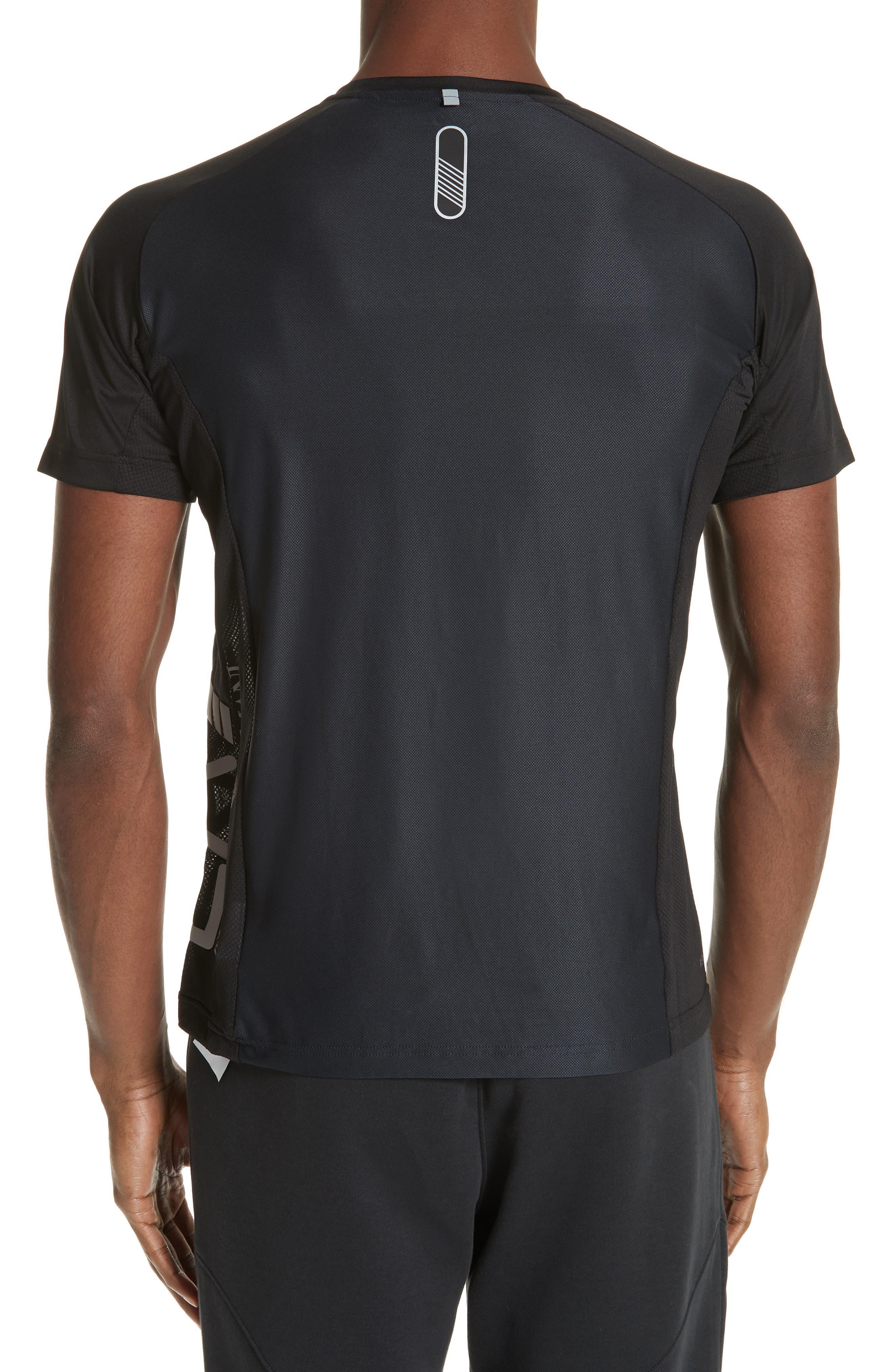 Ventus Crewneck T-Shirt,                             Alternate thumbnail 3, color,                             BLACK