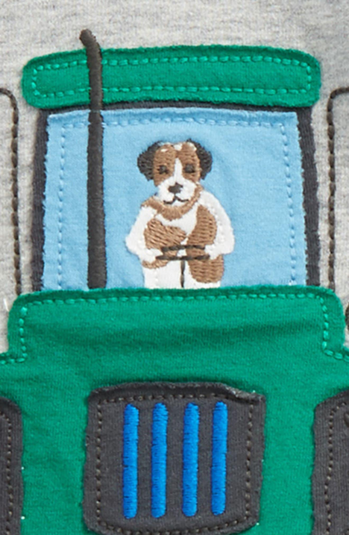 Appliqué T-Shirt & Pants Set,                             Alternate thumbnail 3, color,