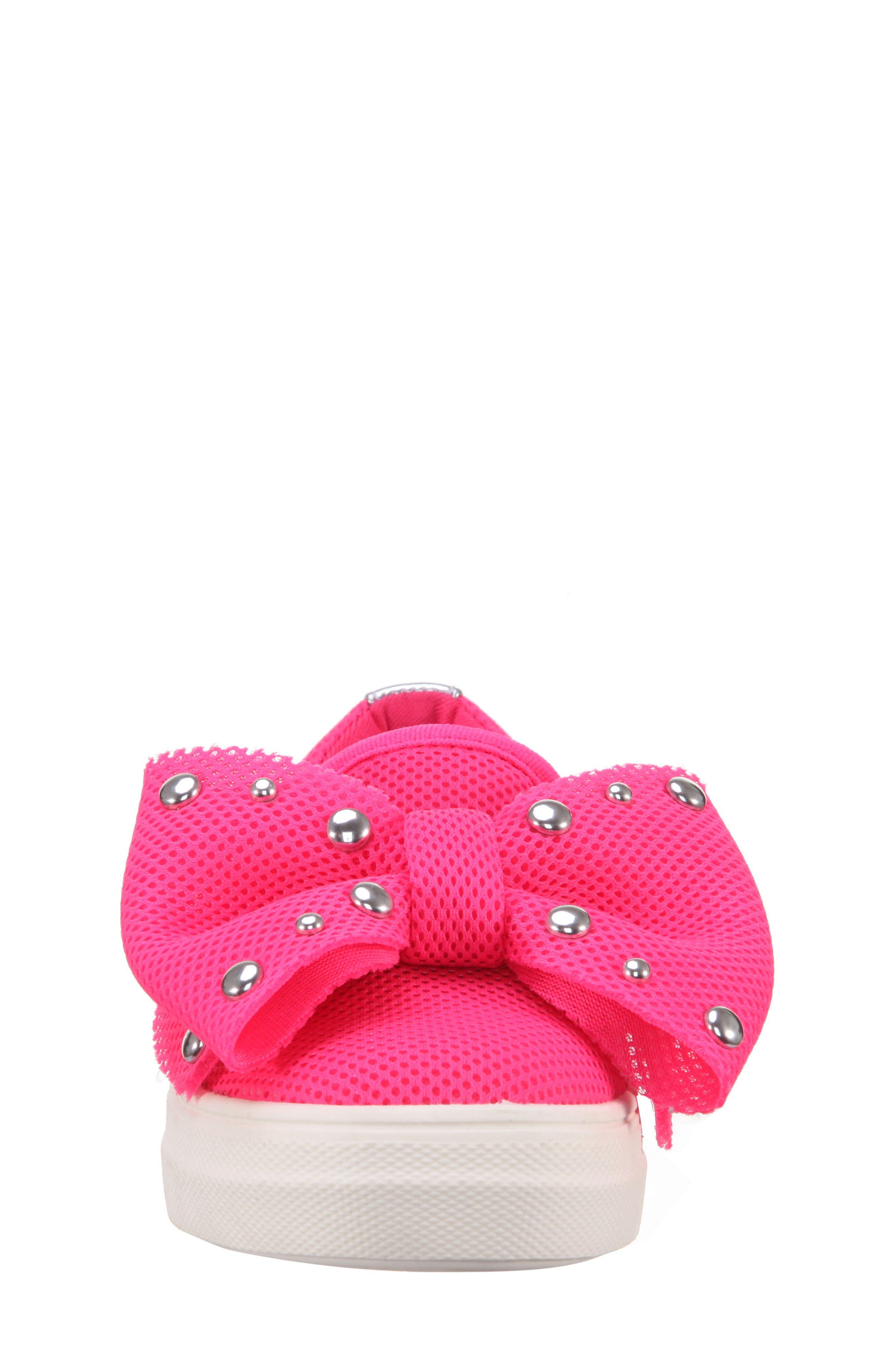 Mary Bow Slip-On Sneaker,                             Alternate thumbnail 11, color,