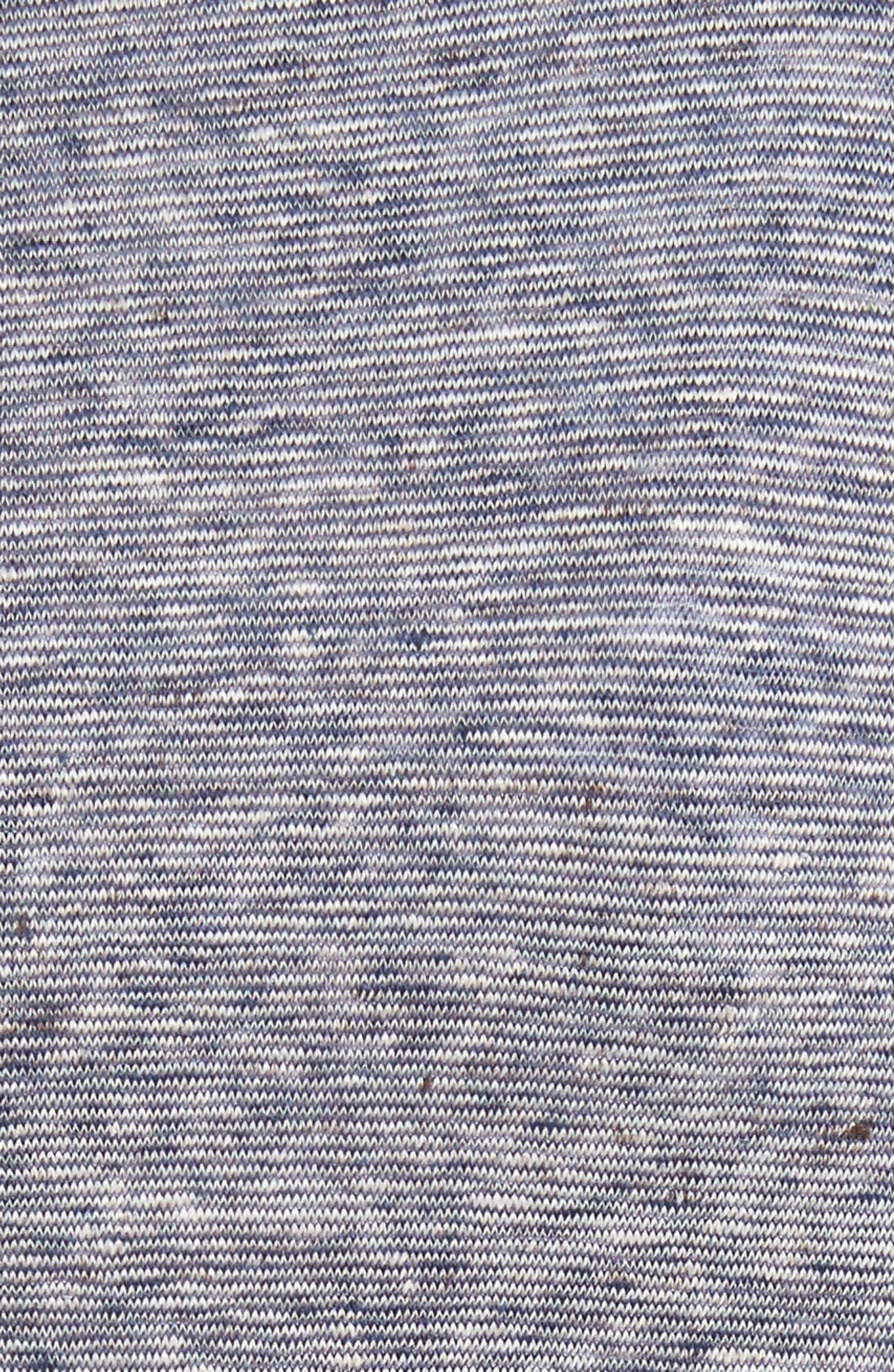 Grosgrain Stripe Jersey Jacket,                             Alternate thumbnail 6, color,                             400