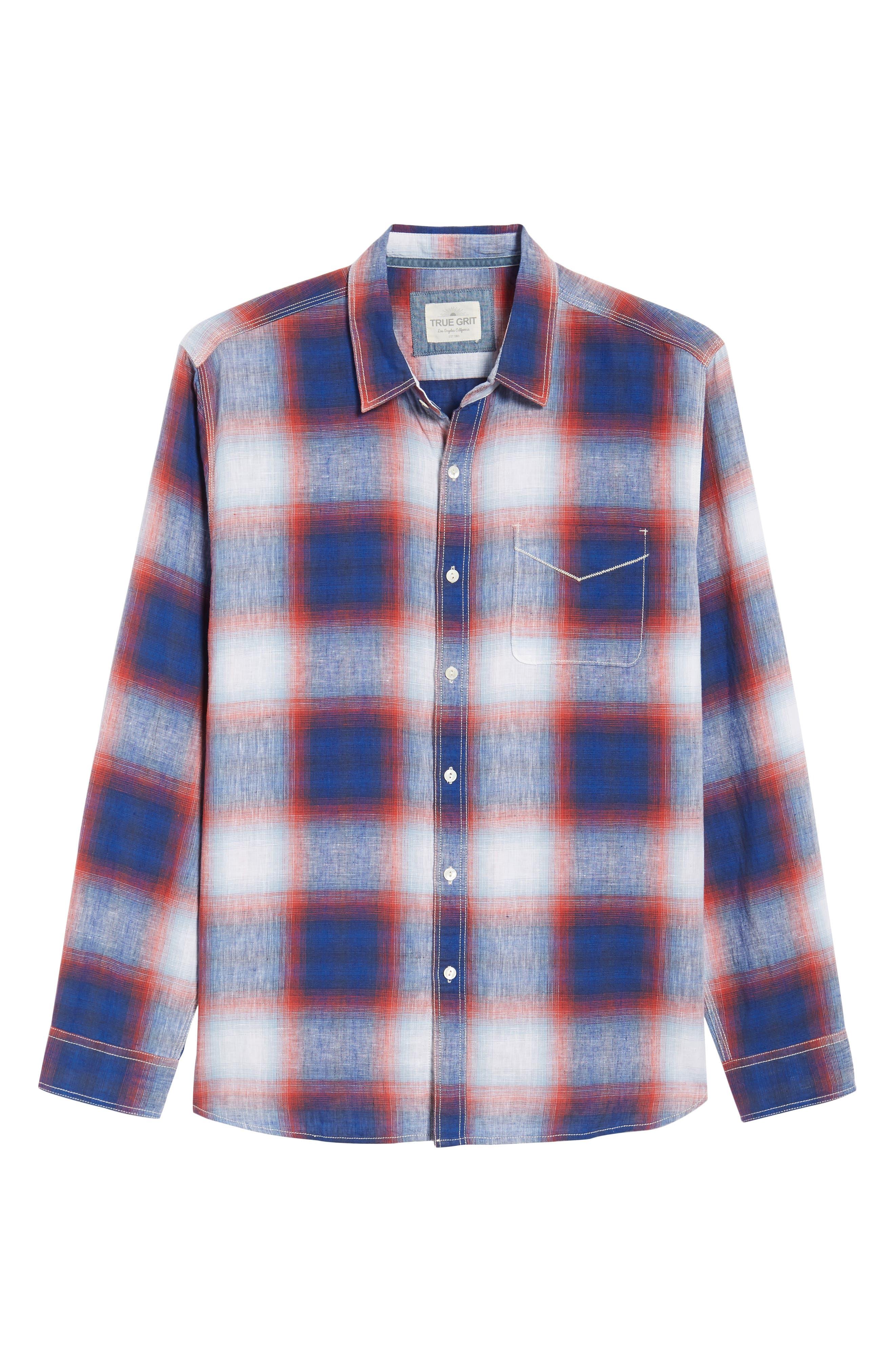 TRUE GRIT,                             Salt Creek Classic Fit Sport Shirt,                             Alternate thumbnail 6, color,                             600