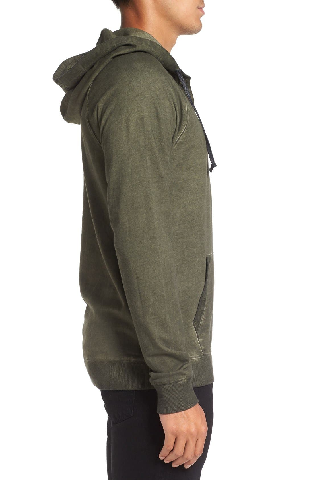 Faded Henley Hoodie,                             Alternate thumbnail 8, color,