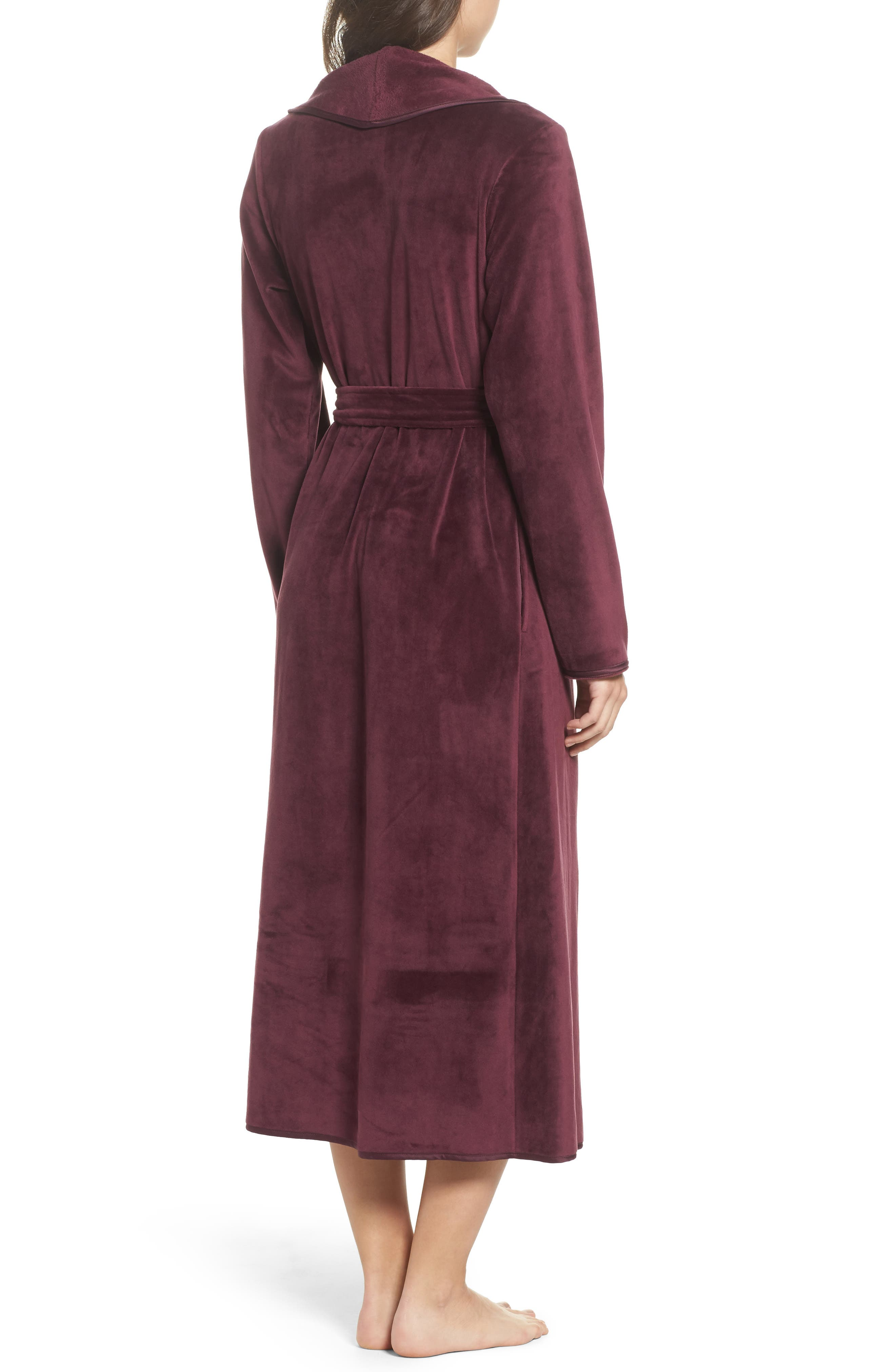 Luxe Shawl Robe,                             Alternate thumbnail 6, color,