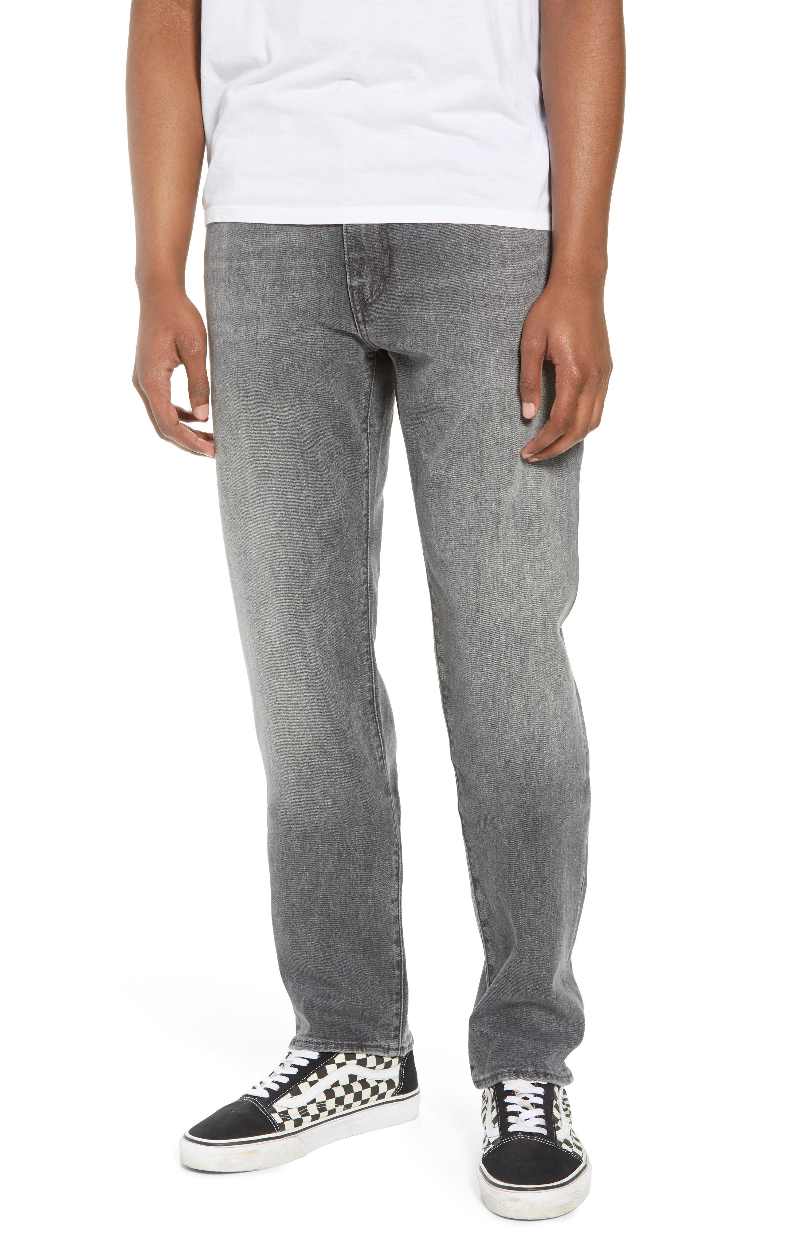 502<sup>™</sup> Slouchy Slim Fit Jeans,                             Main thumbnail 1, color,                             GREY WASH