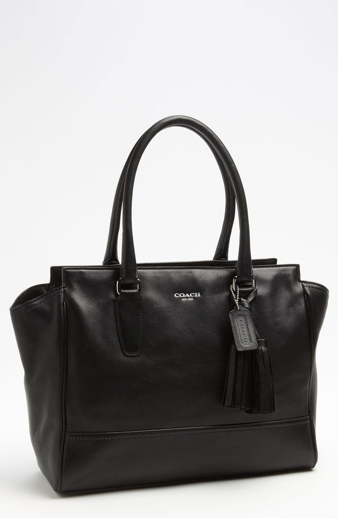 COACH 'Legacy - Medium' Leather Carryall, Main, color, 045
