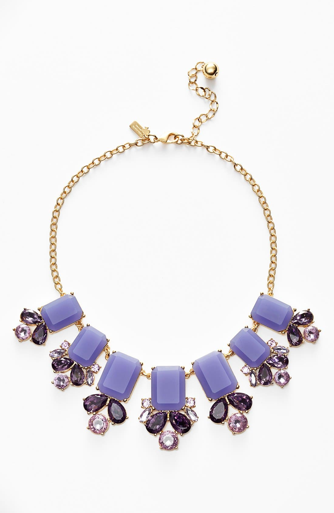 KATE SPADE NEW YORK,                             'glitzy spritz' statement necklace,                             Main thumbnail 1, color,                             500