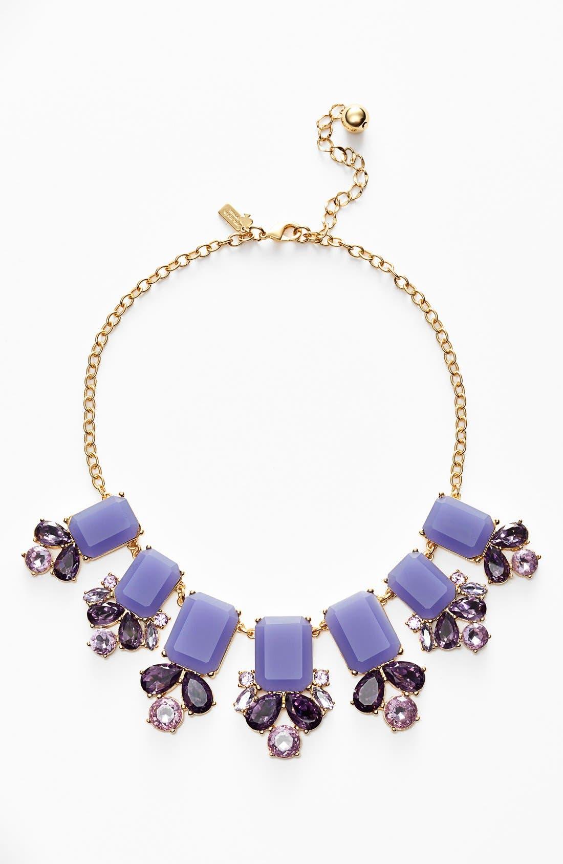 KATE SPADE NEW YORK 'glitzy spritz' statement necklace, Main, color, 500
